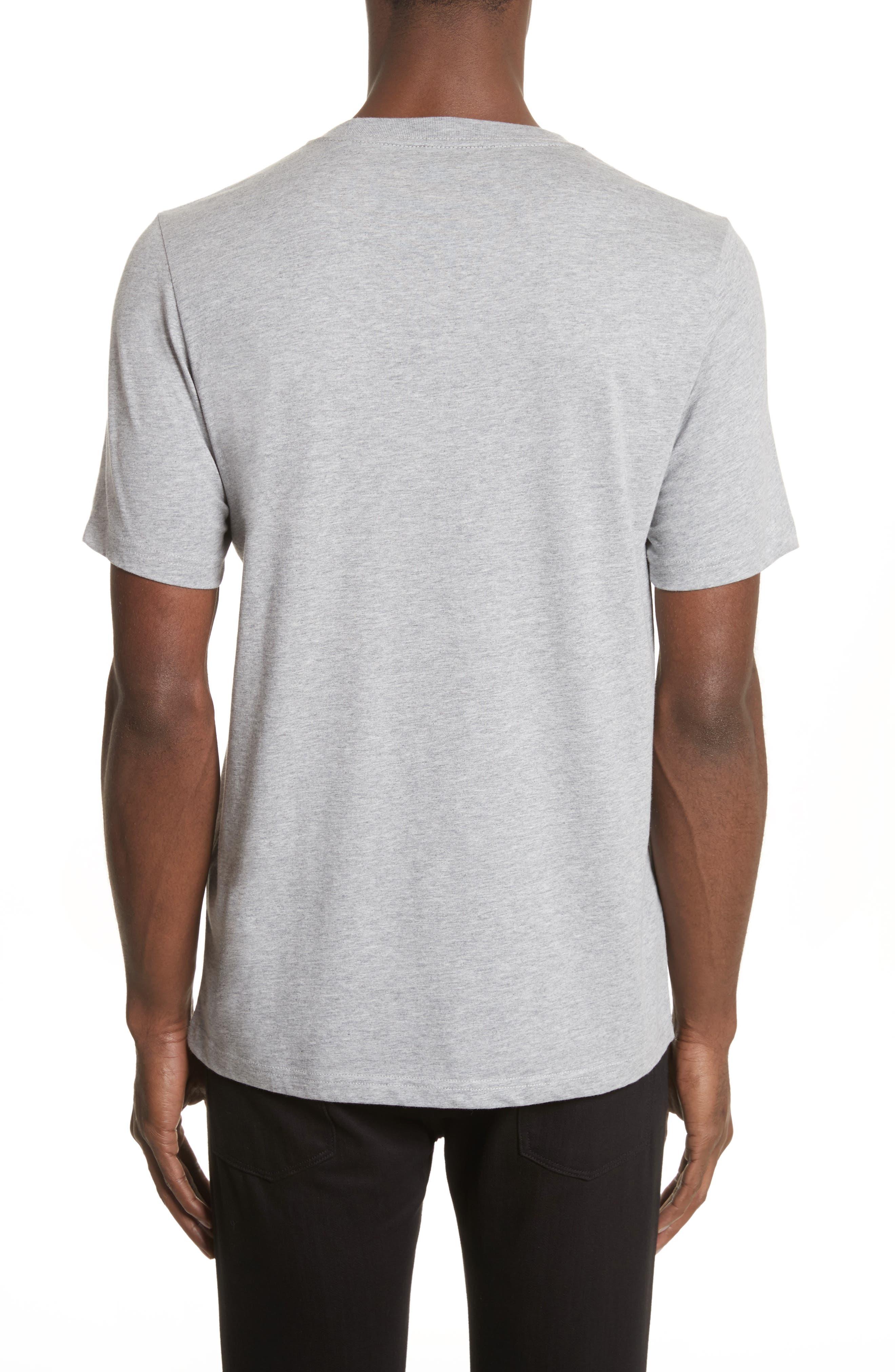 Clown Graphic T-Shirt,                             Alternate thumbnail 2, color,                             Grey