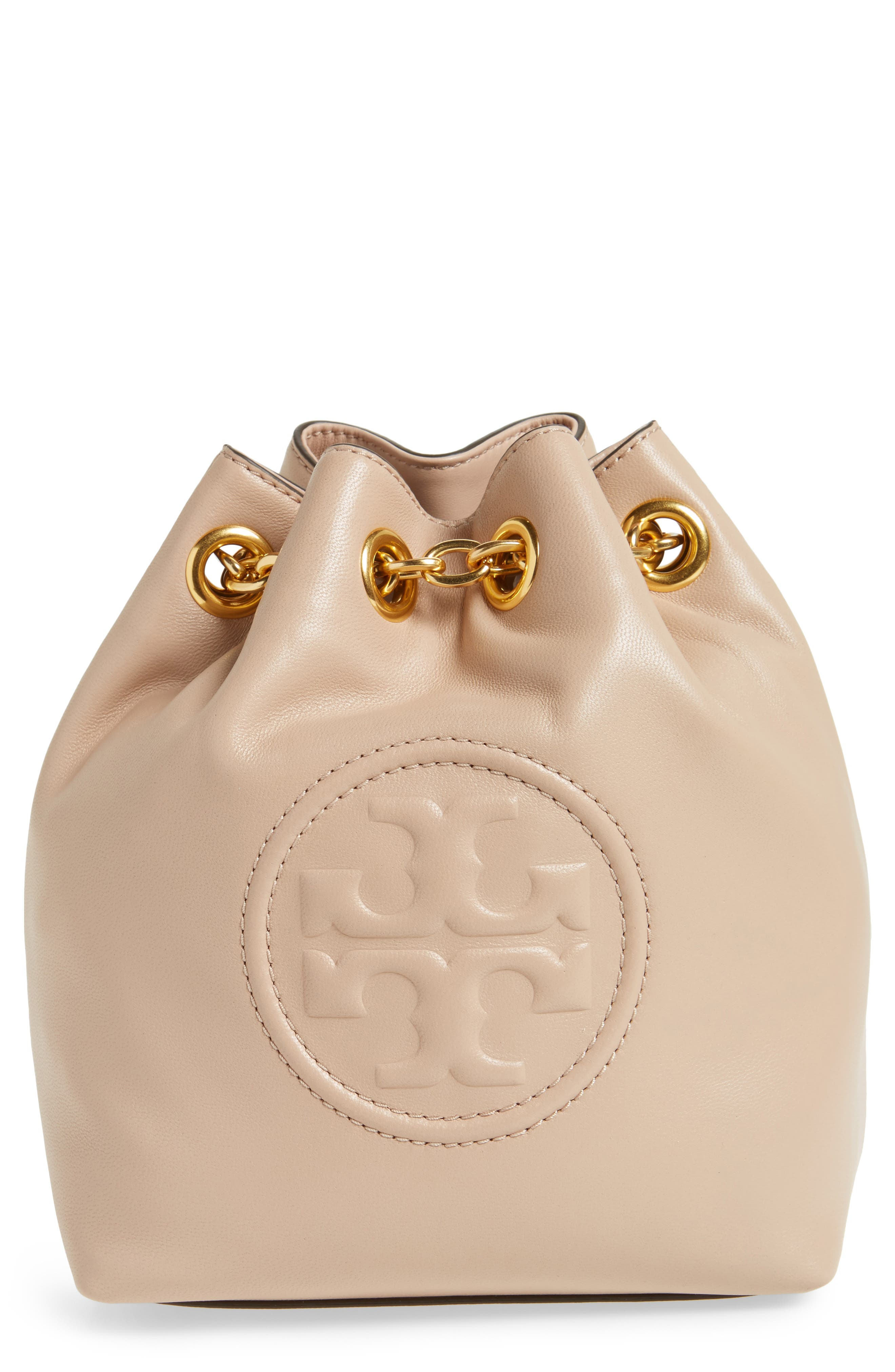 Tory Burch Mini Fleming Leather Backpack