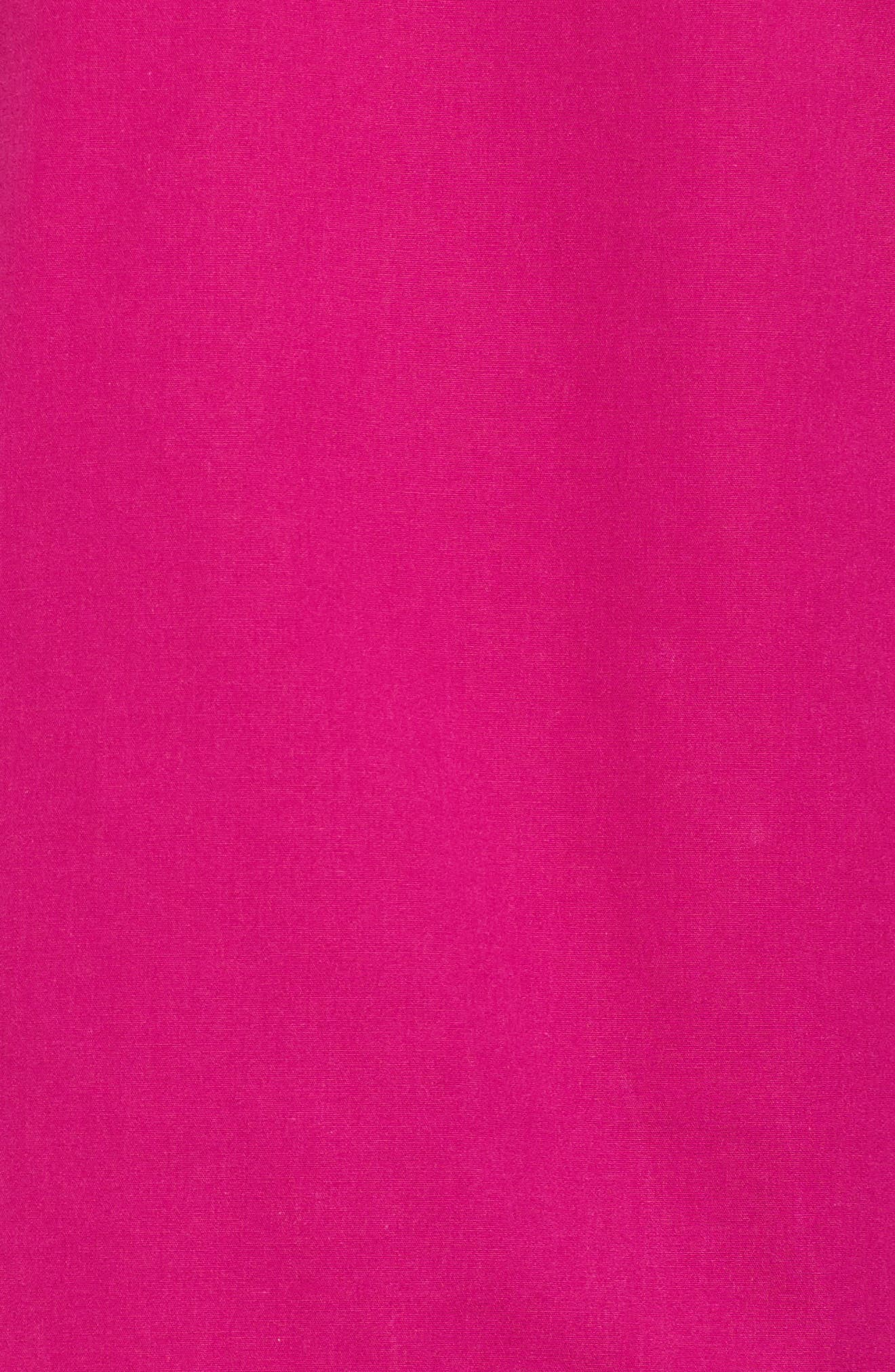 Alternate Image 5  - Halogen® V-Neck Blouson Sleeve Top