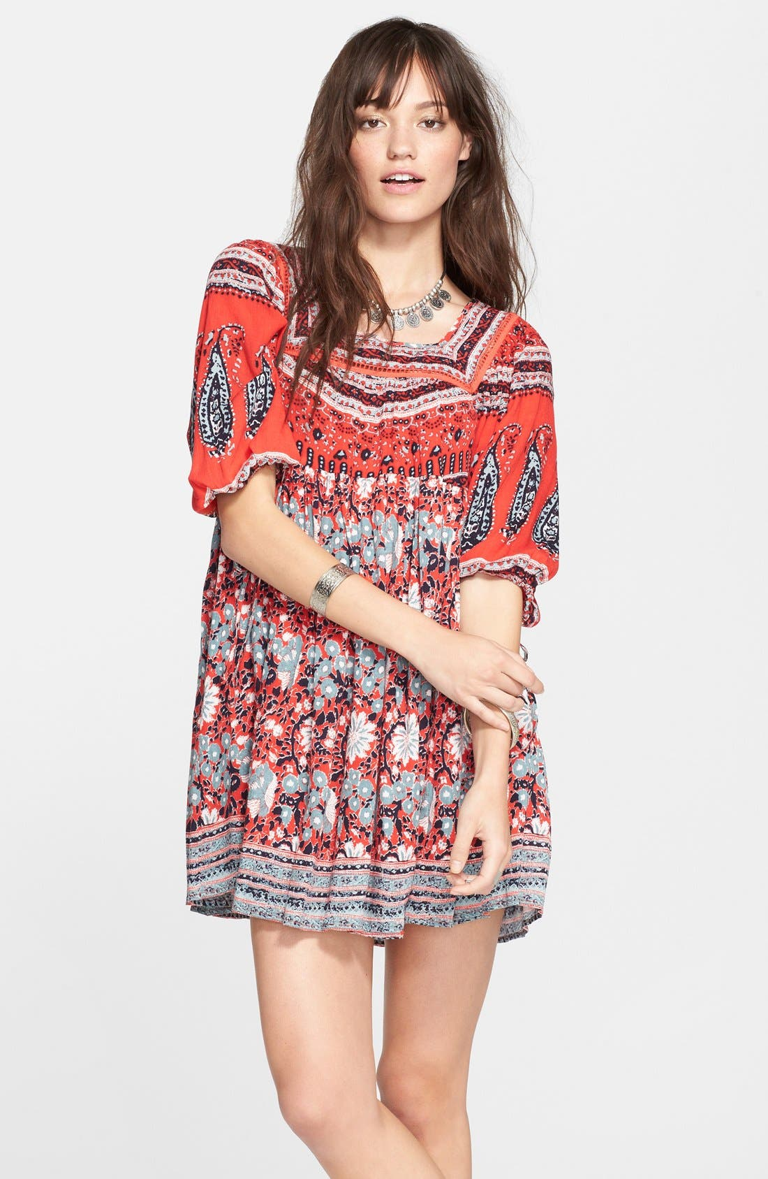 Alternate Image 1 Selected - Free People 'Snap Out of It' Print Dress