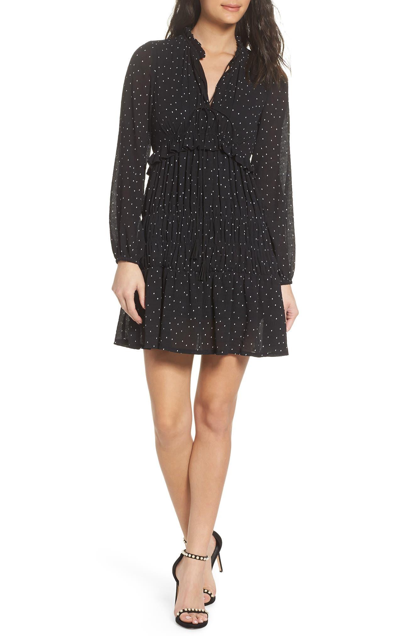 Lola Dress,                         Main,                         color, Black