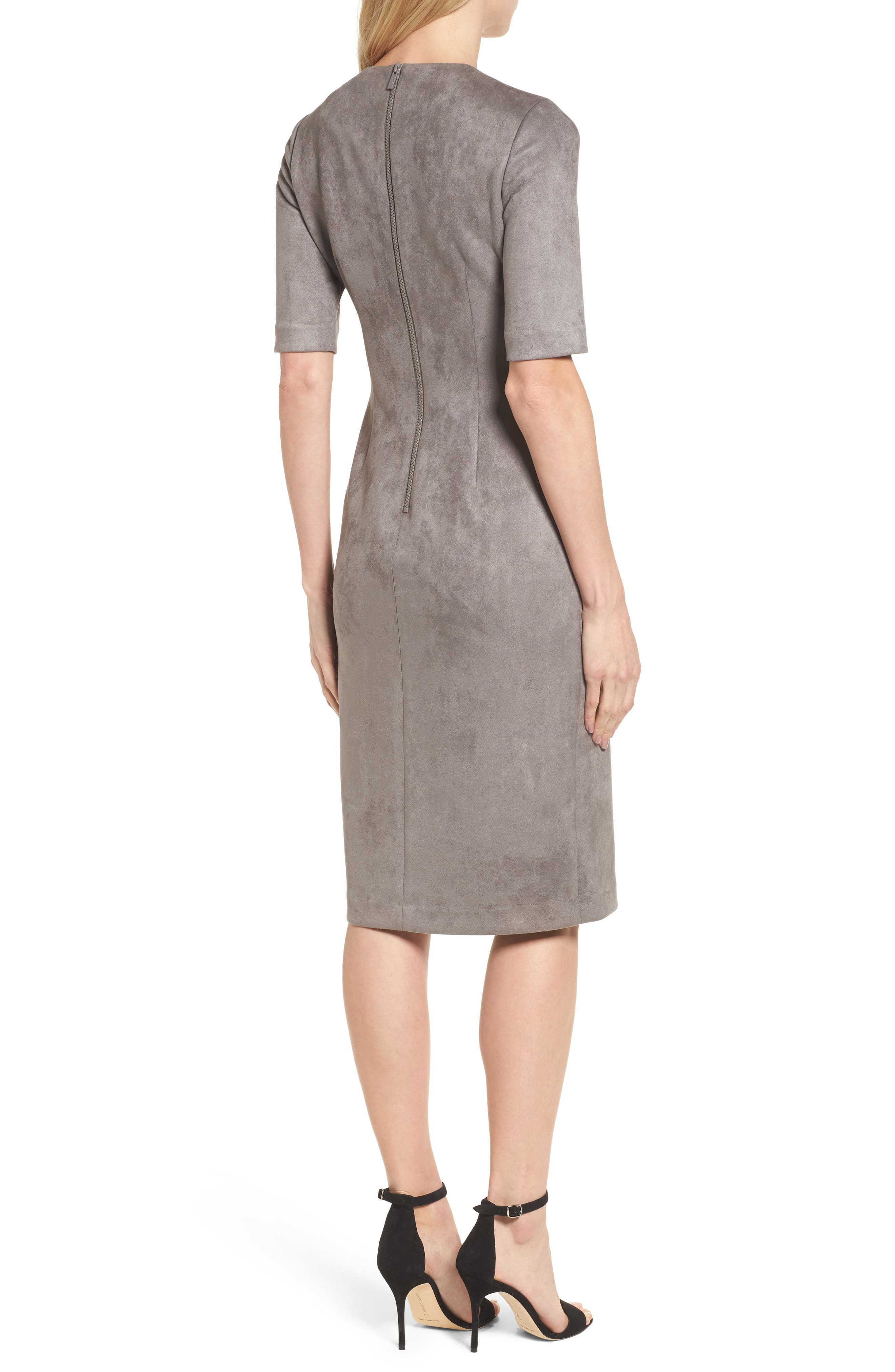 Alternate Image 2  - Anne Klein Scuba Knit Sheath Dress