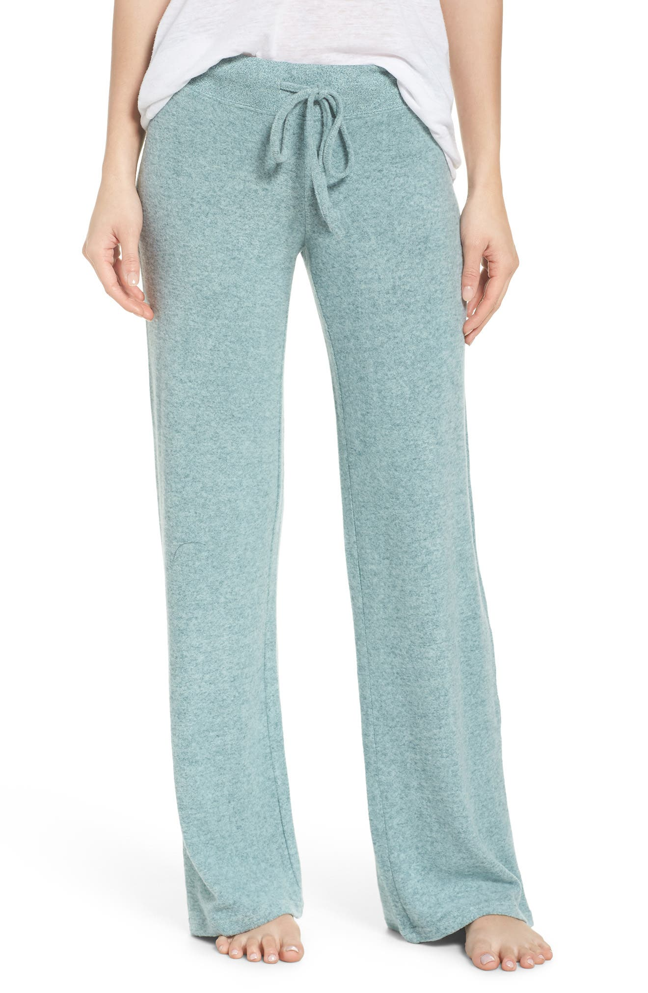 Main Image - Make + Model Best Boyfriend Brushed Hacci Lounge Pants