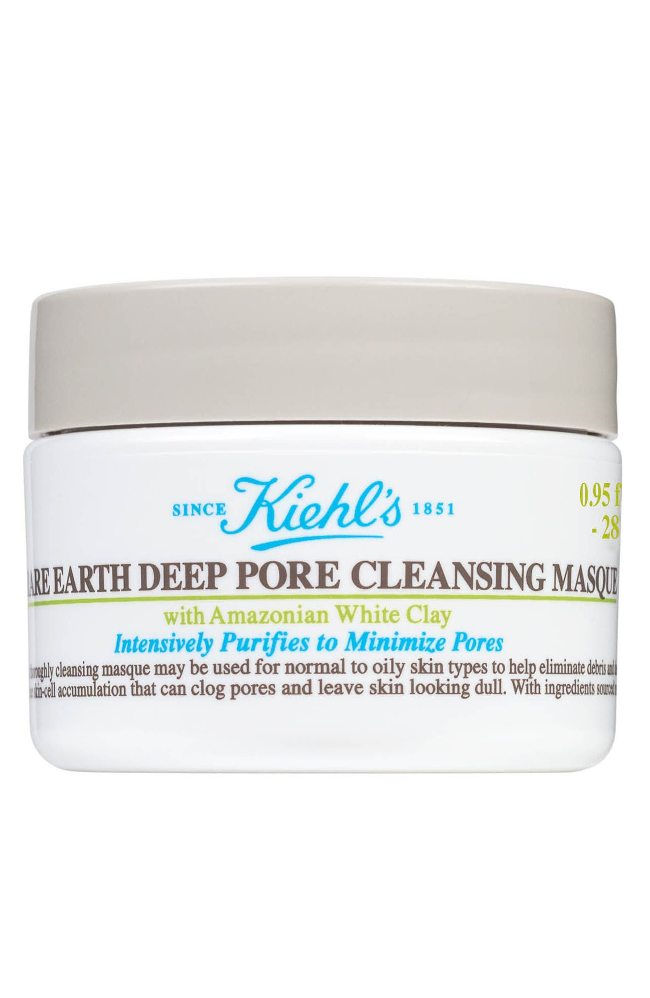 Rare Earth Deep Pore Cleansing Masque,                             Main thumbnail 1, color,                             No Color