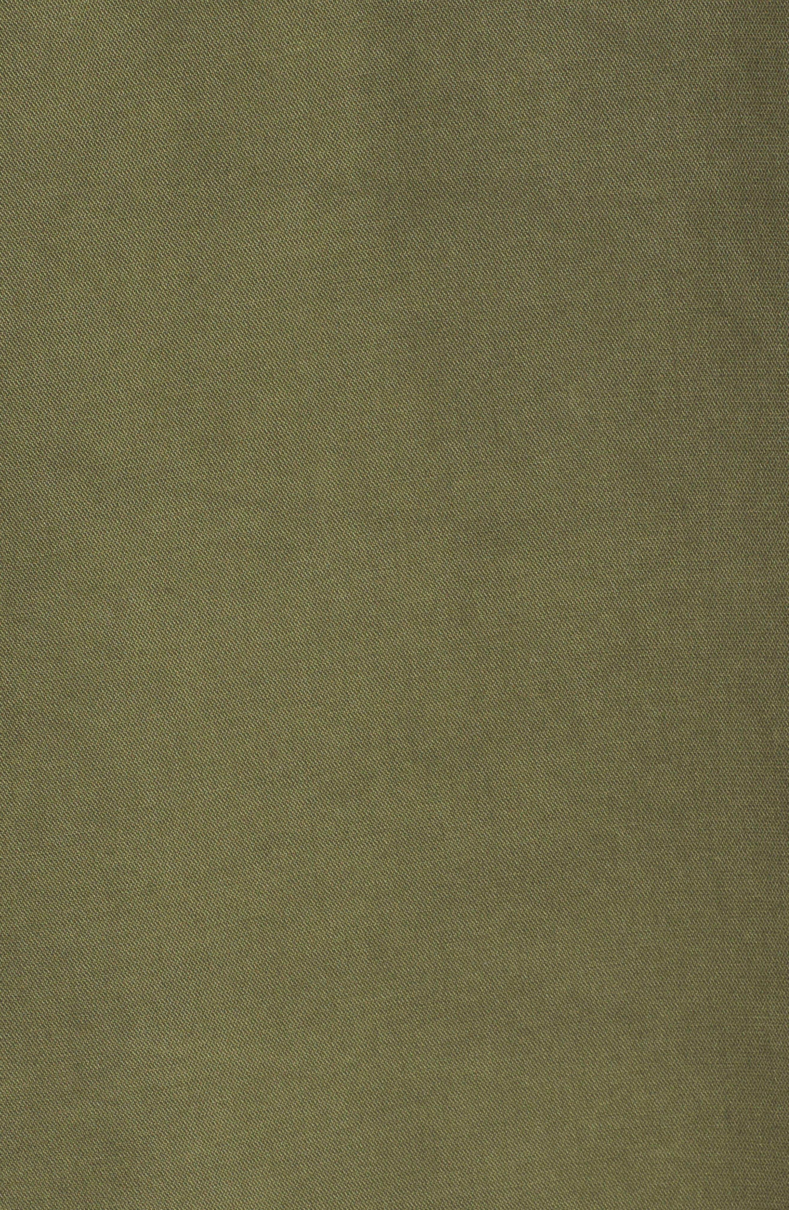 Scout Ruffle Sleeve Jacket,                             Alternate thumbnail 4, color,                             Cadet