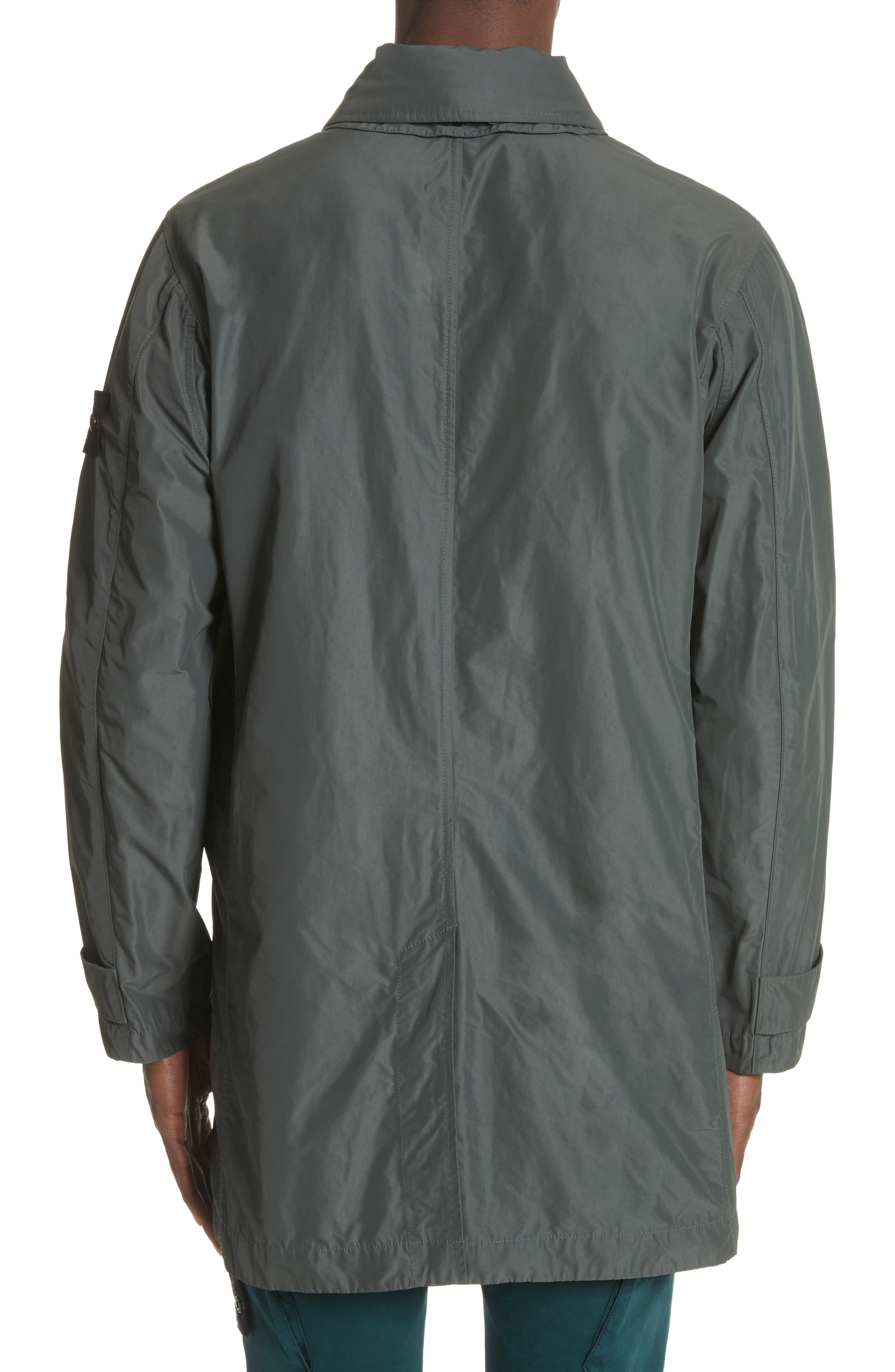 Trench Coat,                             Alternate thumbnail 2, color,                             Grey