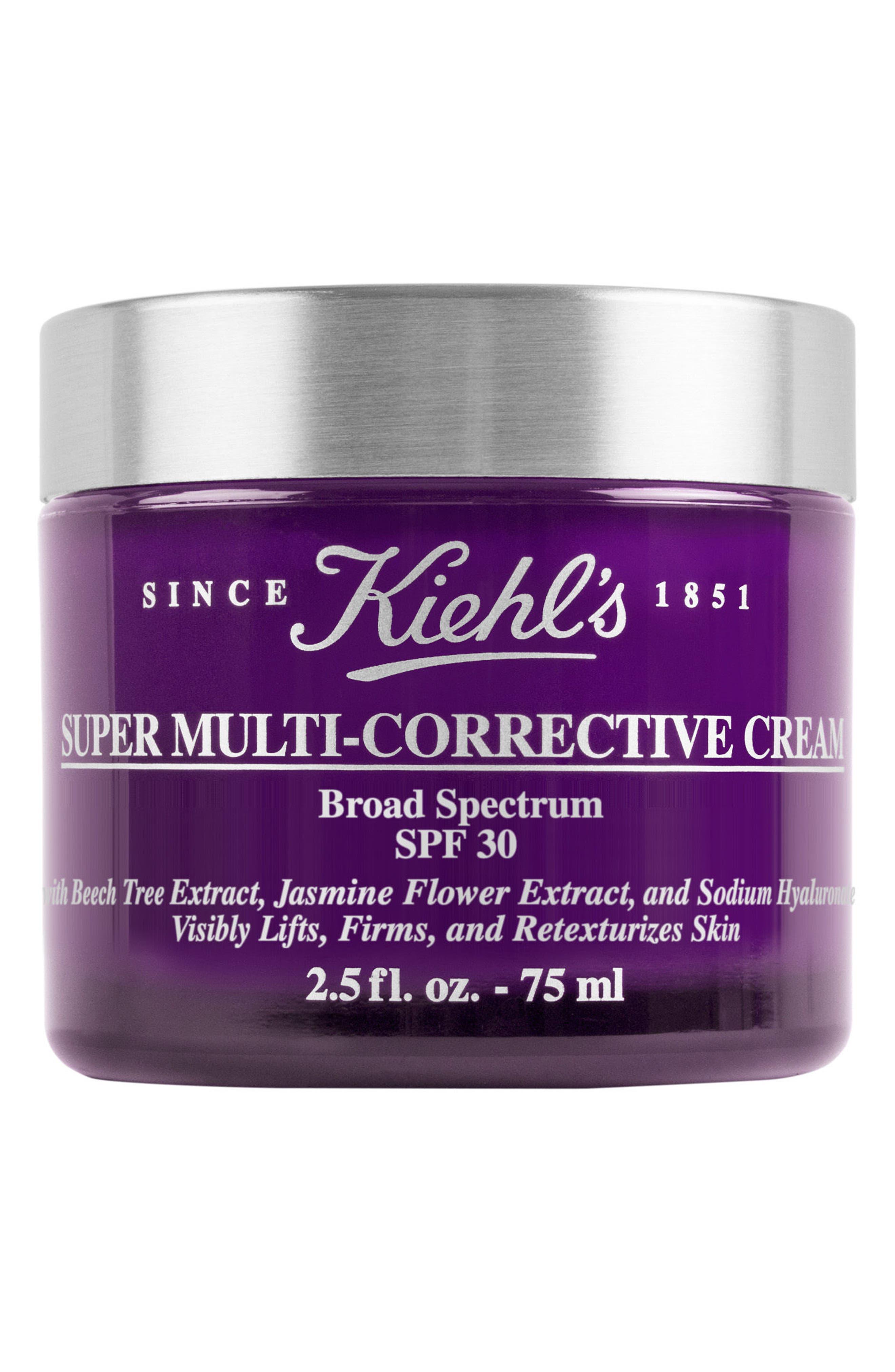Super Multi-Corrective Cream SPF 30,                         Main,                         color, No Color