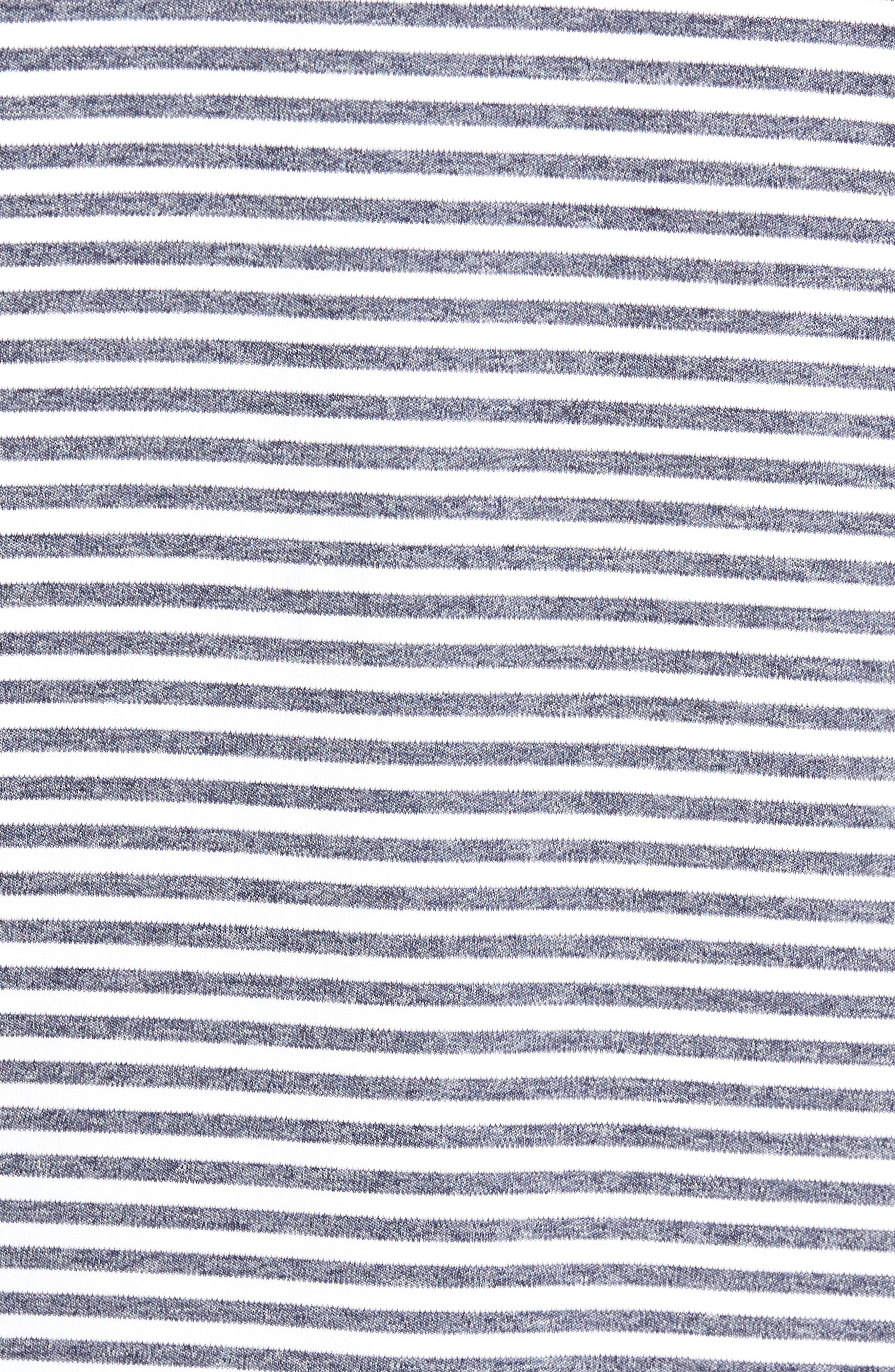 Alternate Image 5  - Bobby Jones XH2O Tranquil Stripe Jersey Polo