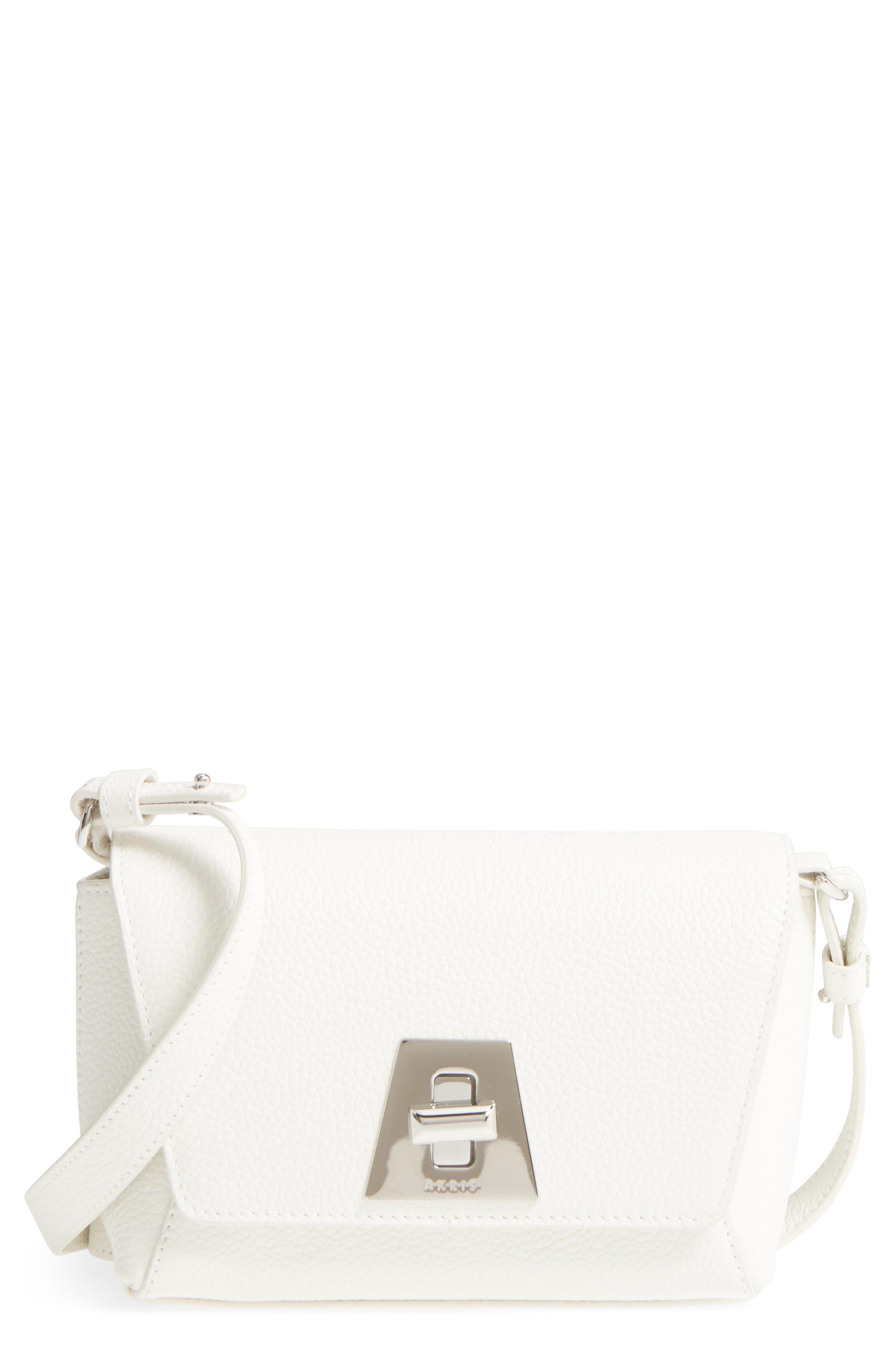 Alternate Image 1 Selected - Akris Little Anouk Calfskin Crossbody Bag