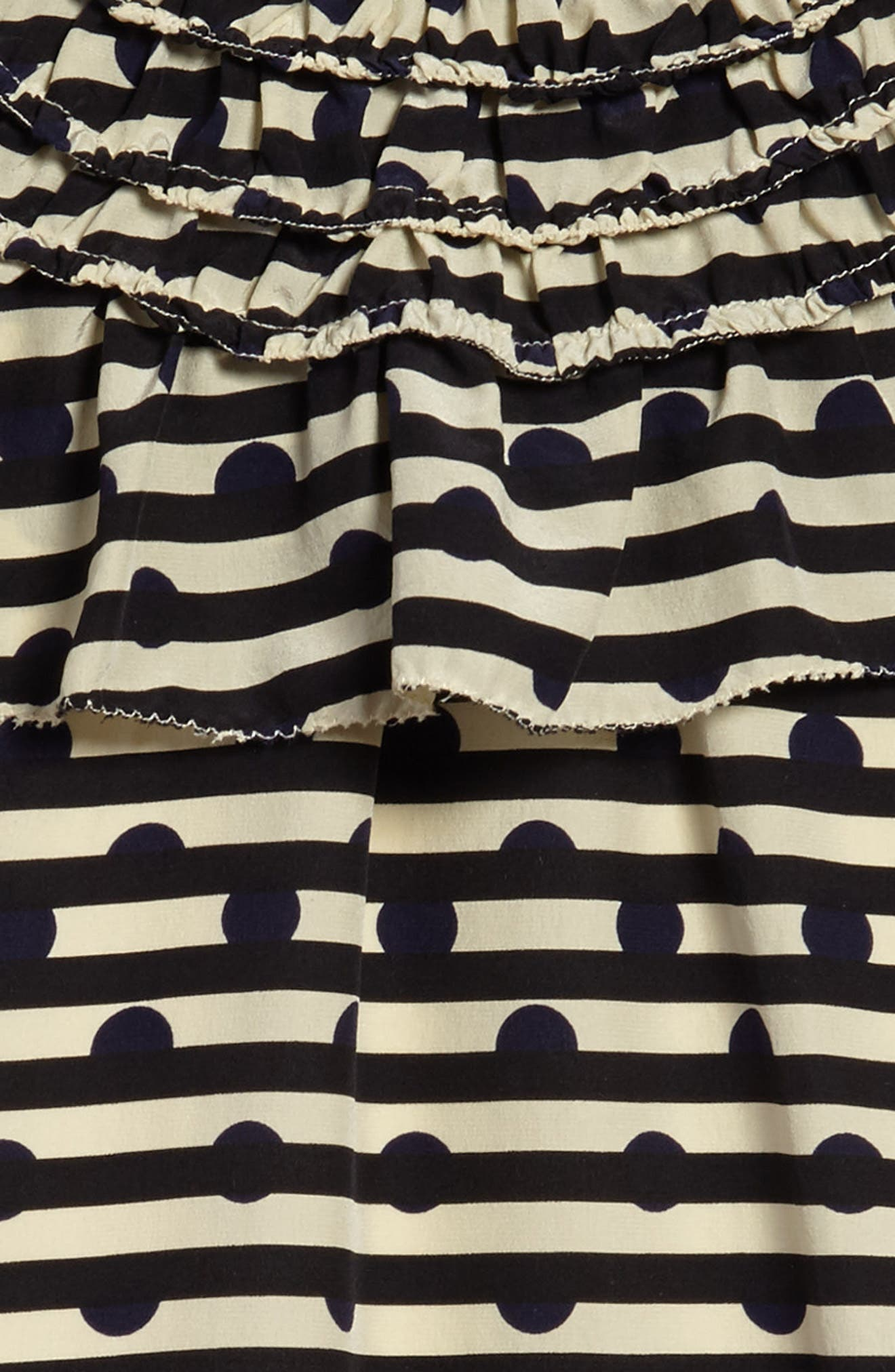 Alternate Image 3  - Burberry Lilla Silk Shift Dress (Little Girls & Big Girls)
