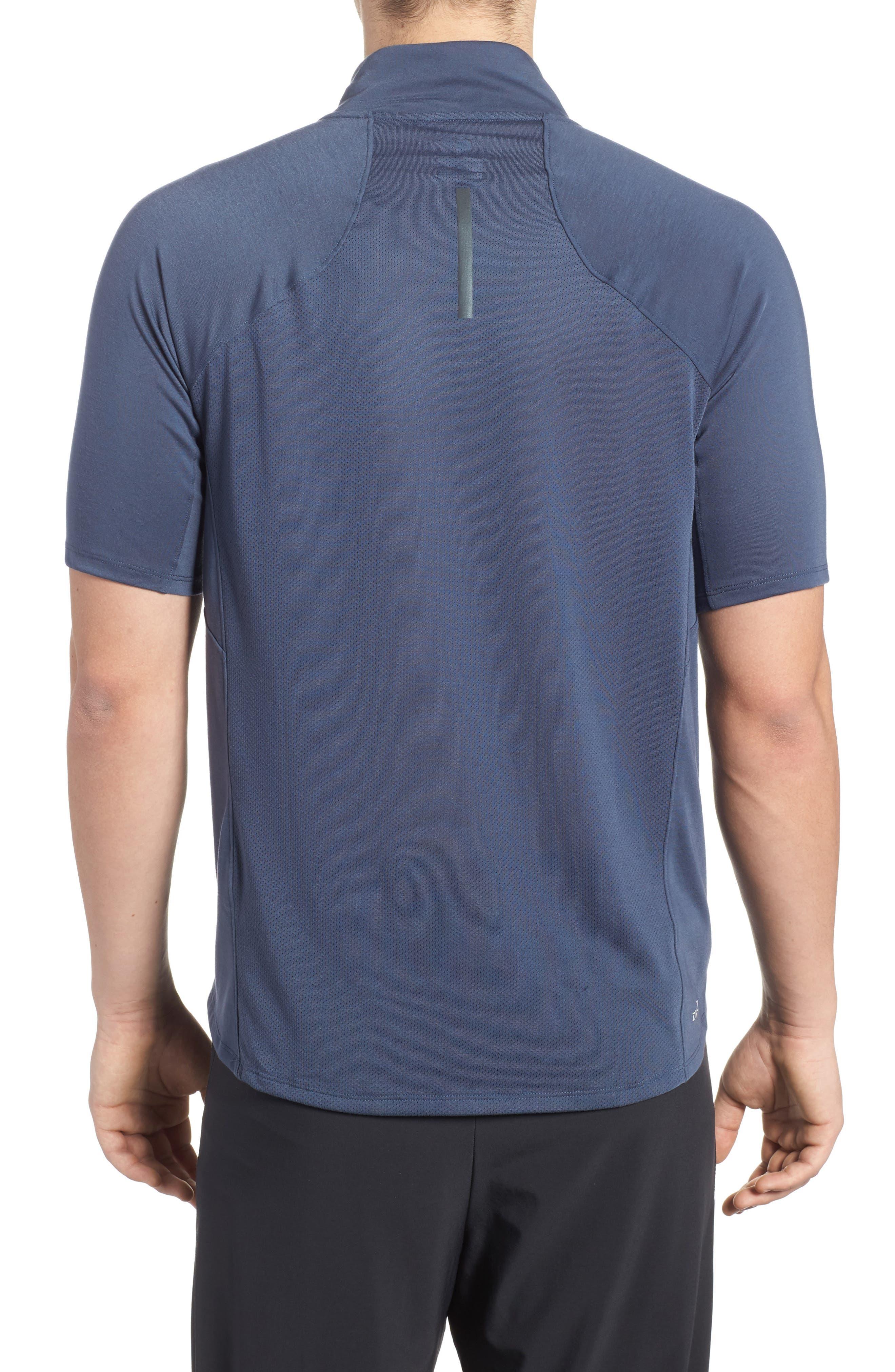 Tailwind Running T-Shirt,                             Alternate thumbnail 2, color,                             Thunder Blue