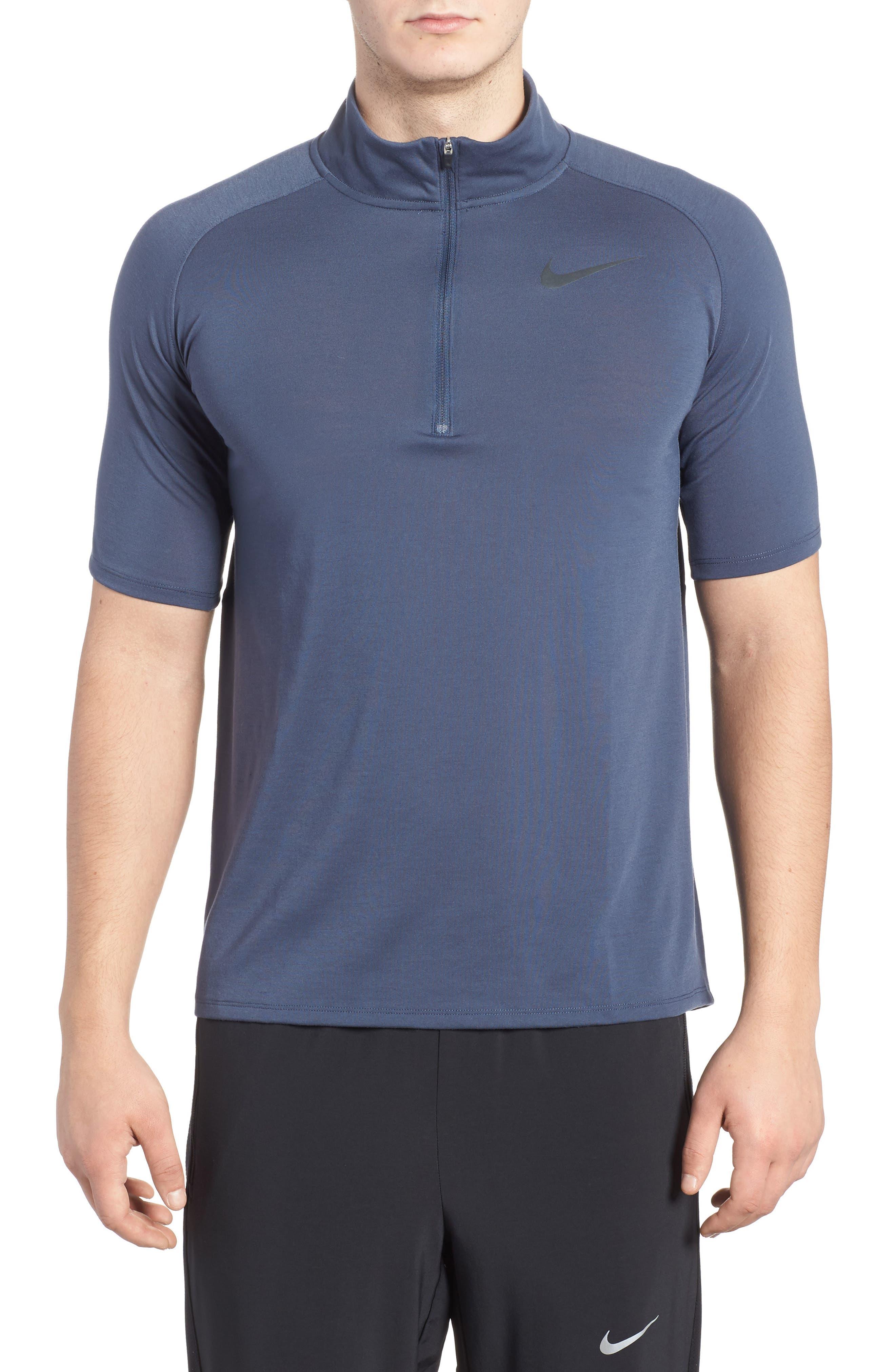 Tailwind Running T-Shirt,                         Main,                         color, Thunder Blue