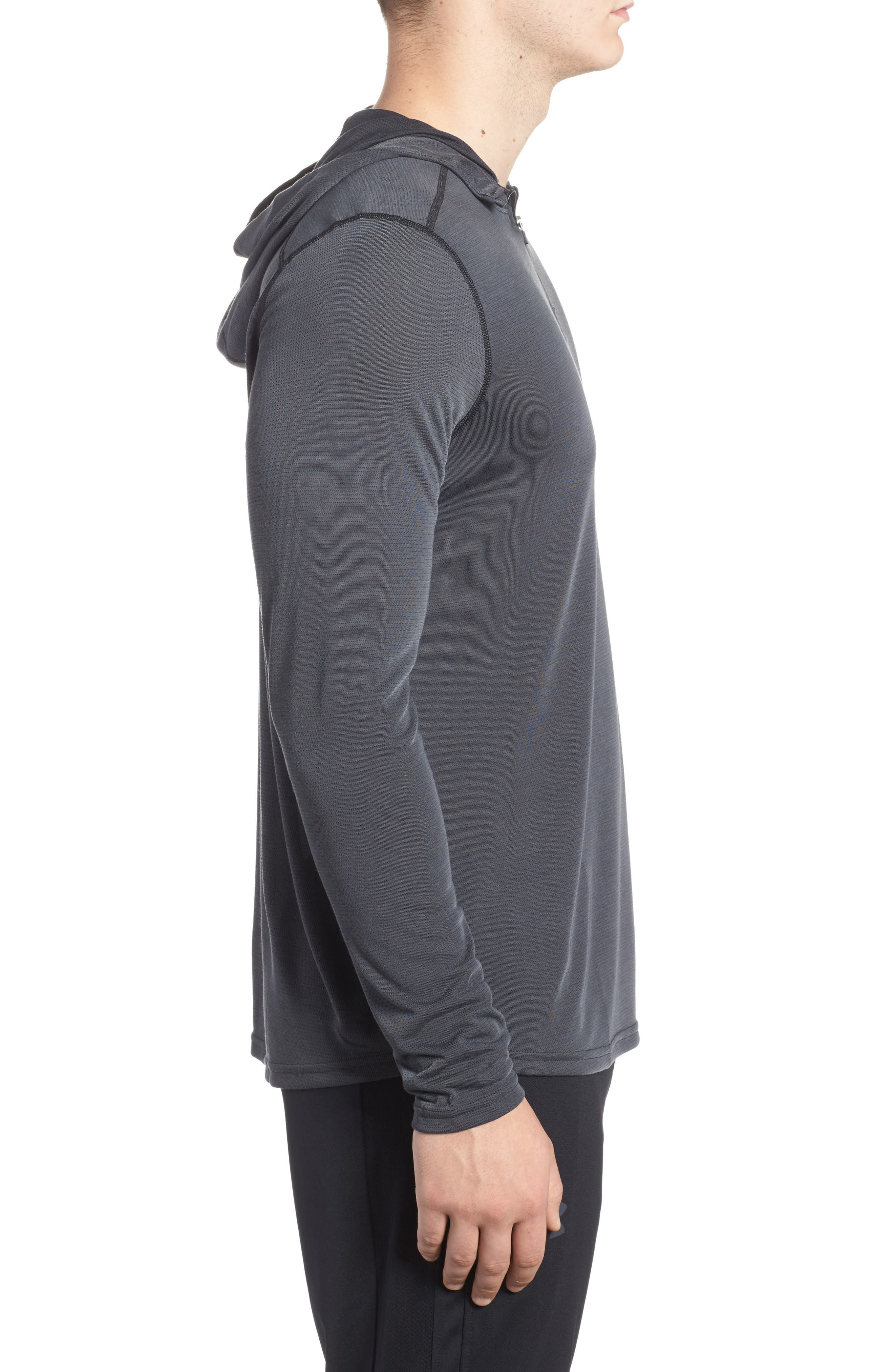 Alternate Image 3  - Under Armour Threadborne Mesh Knit Hoodie