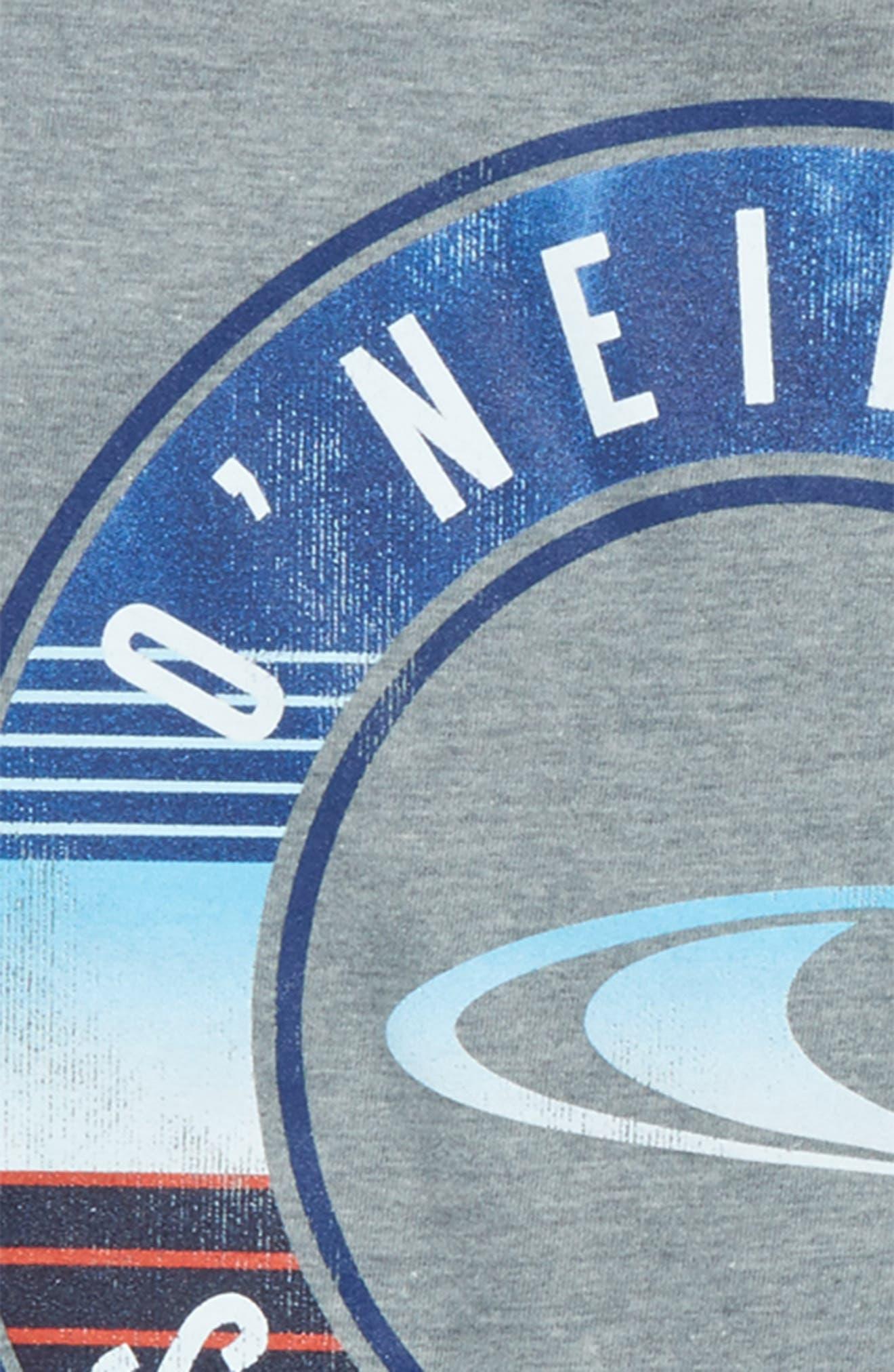 Supply Graphic T-Shirt,                             Alternate thumbnail 3, color,                             Medium Heather Grey