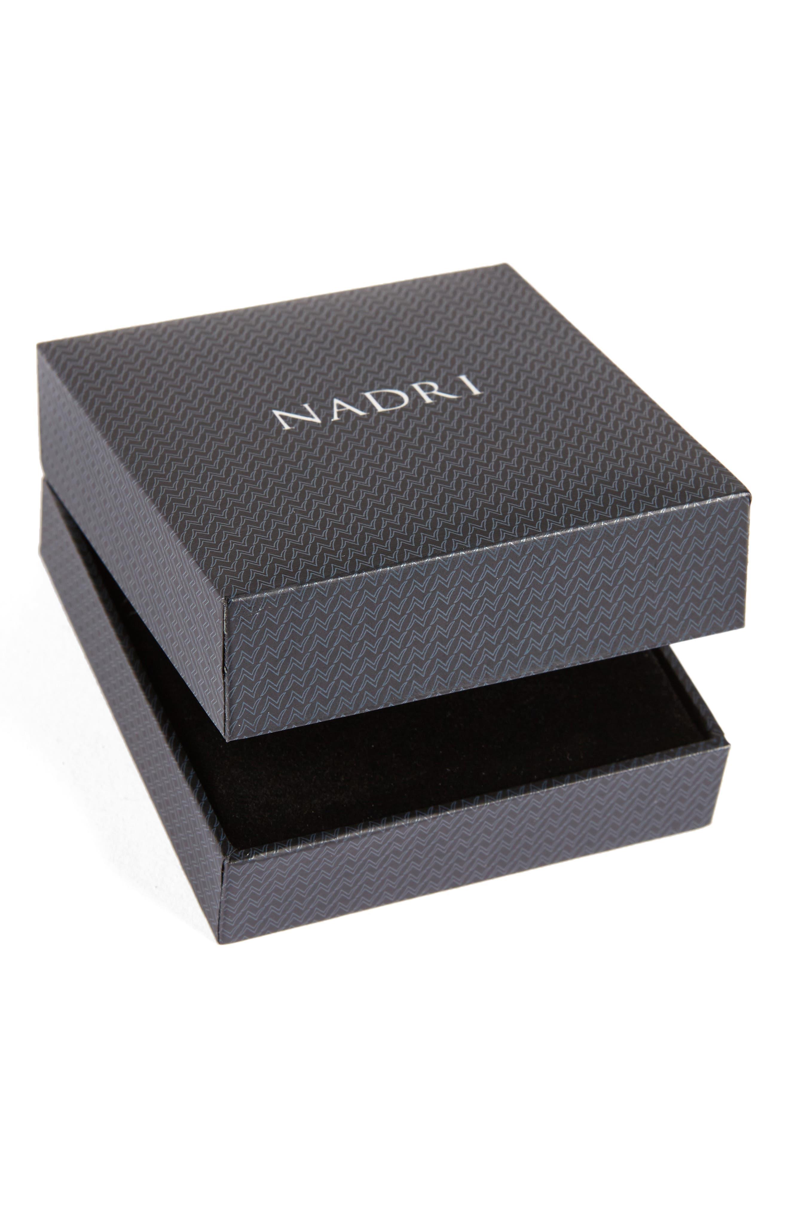 Alternate Image 5  - Nadri Cross Necklace
