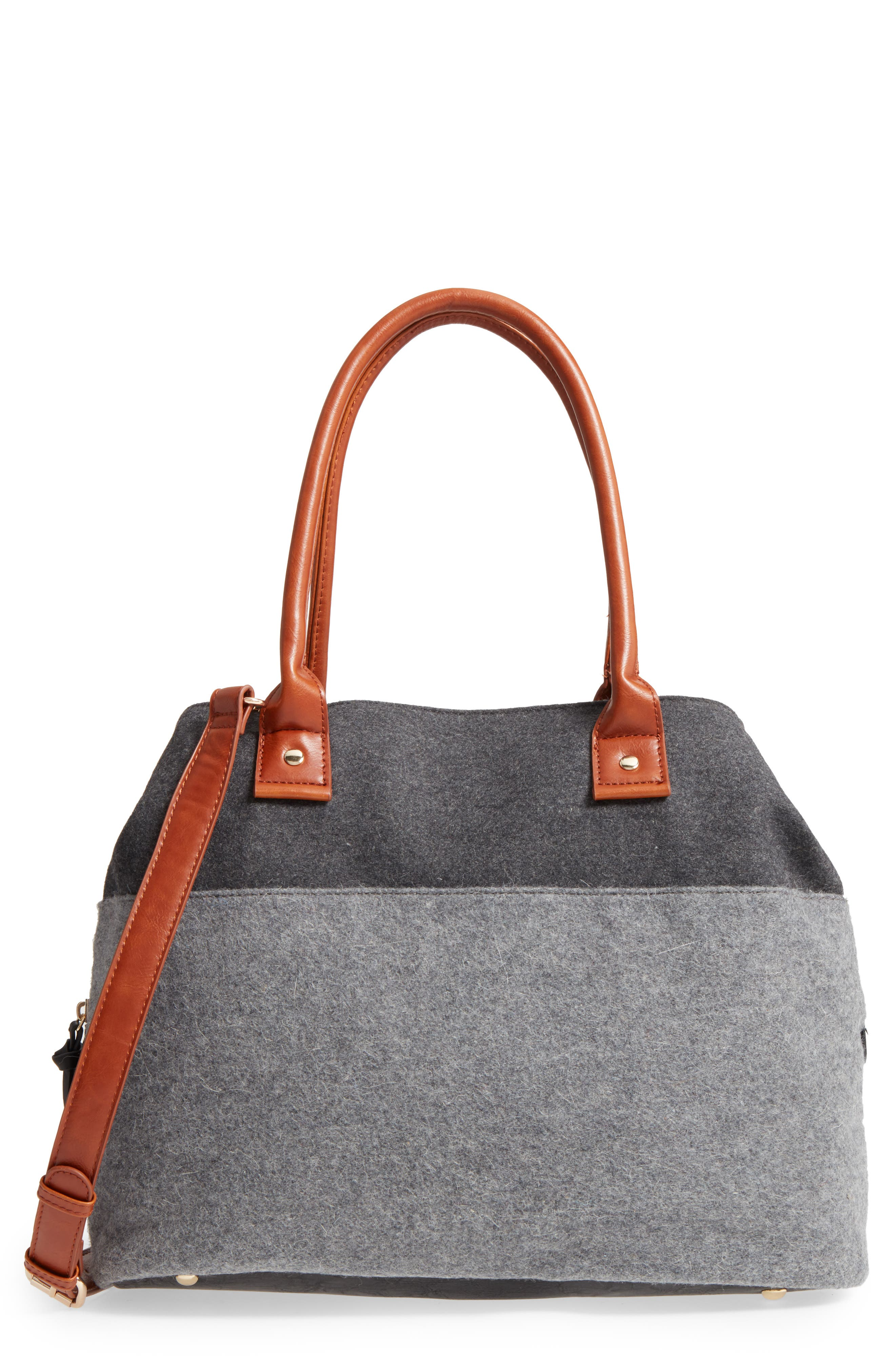 Alternate Image 1 Selected - Sole Society Chasity Duffel Bag