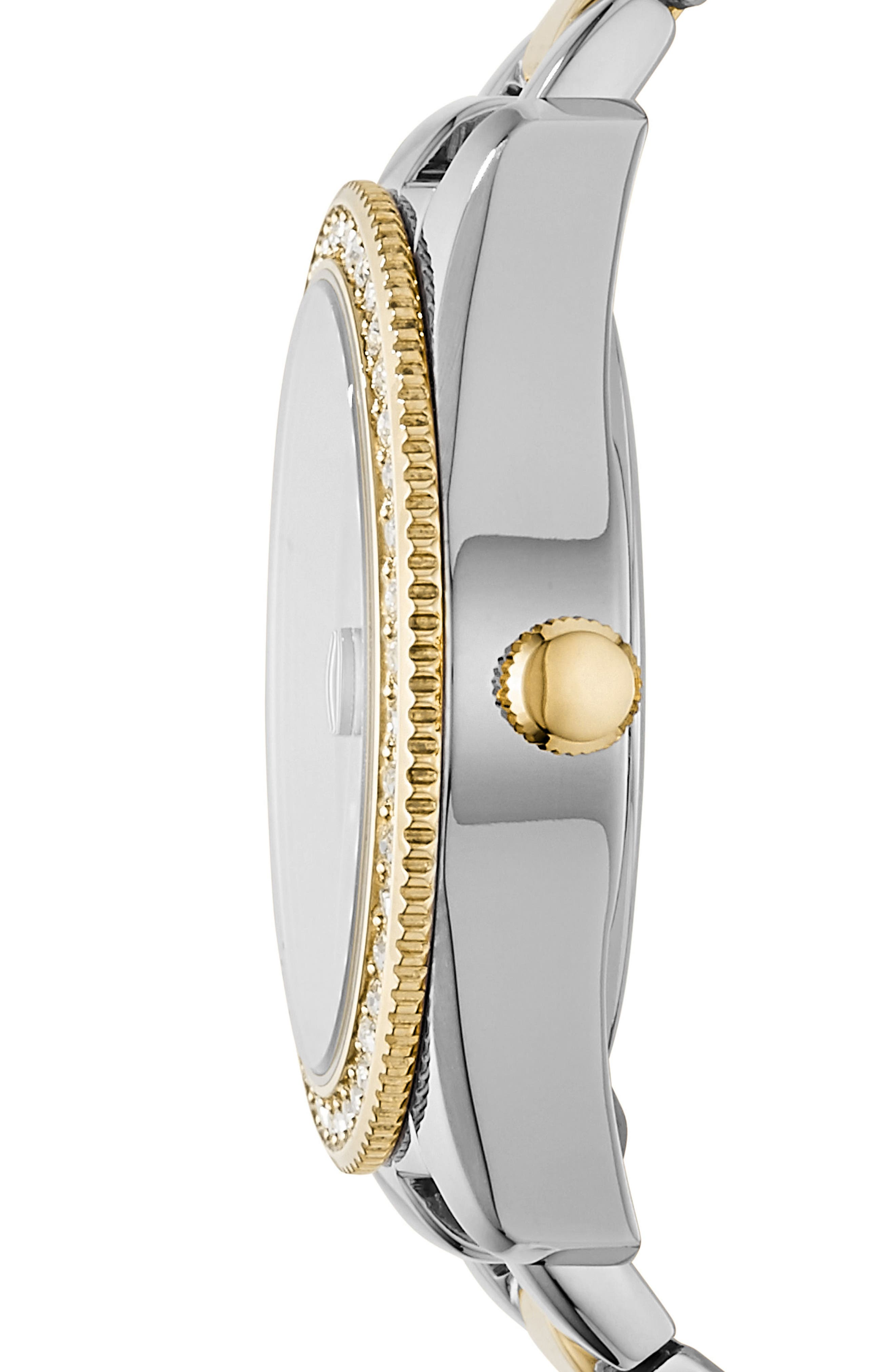 Alternate Image 2  - Fossil Scarlette Crystal Bracelet Watch, 32mm
