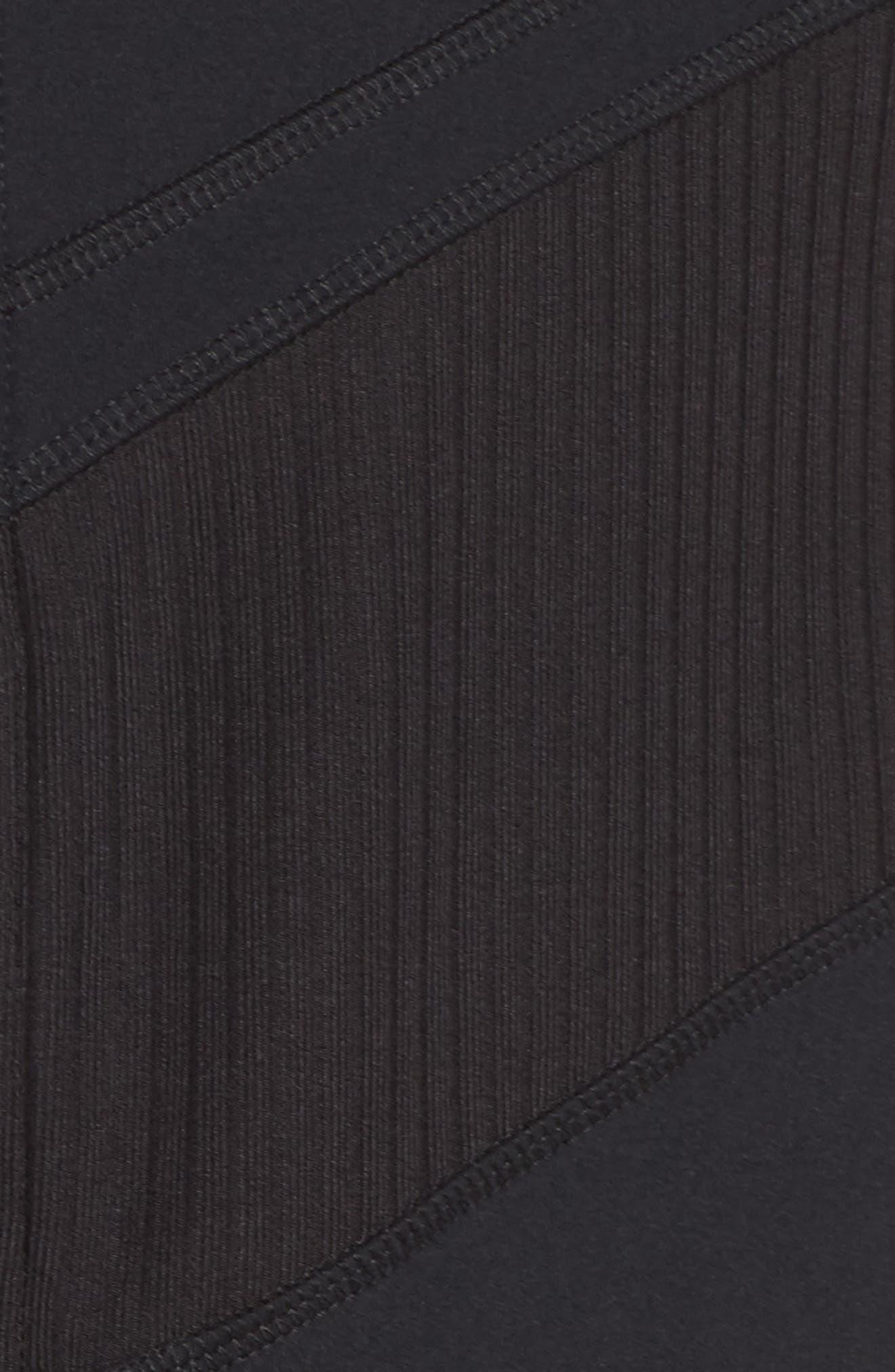 Cato Quarter Zip Pullover,                             Alternate thumbnail 6, color,                             Black