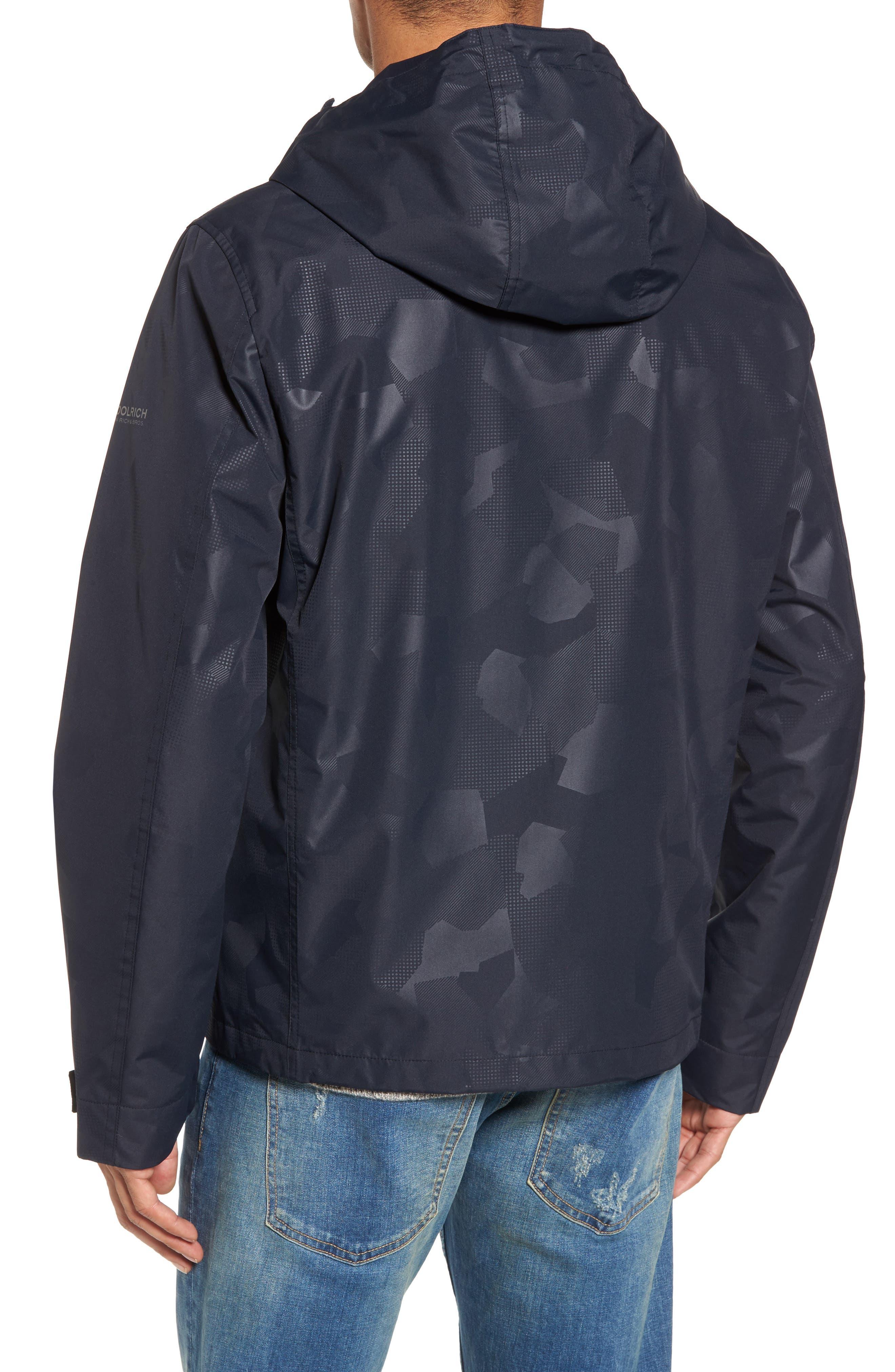 John Rich & Bros. Atlantic Camo Hooded Jacket,                             Alternate thumbnail 2, color,                             Melton Blue Camo