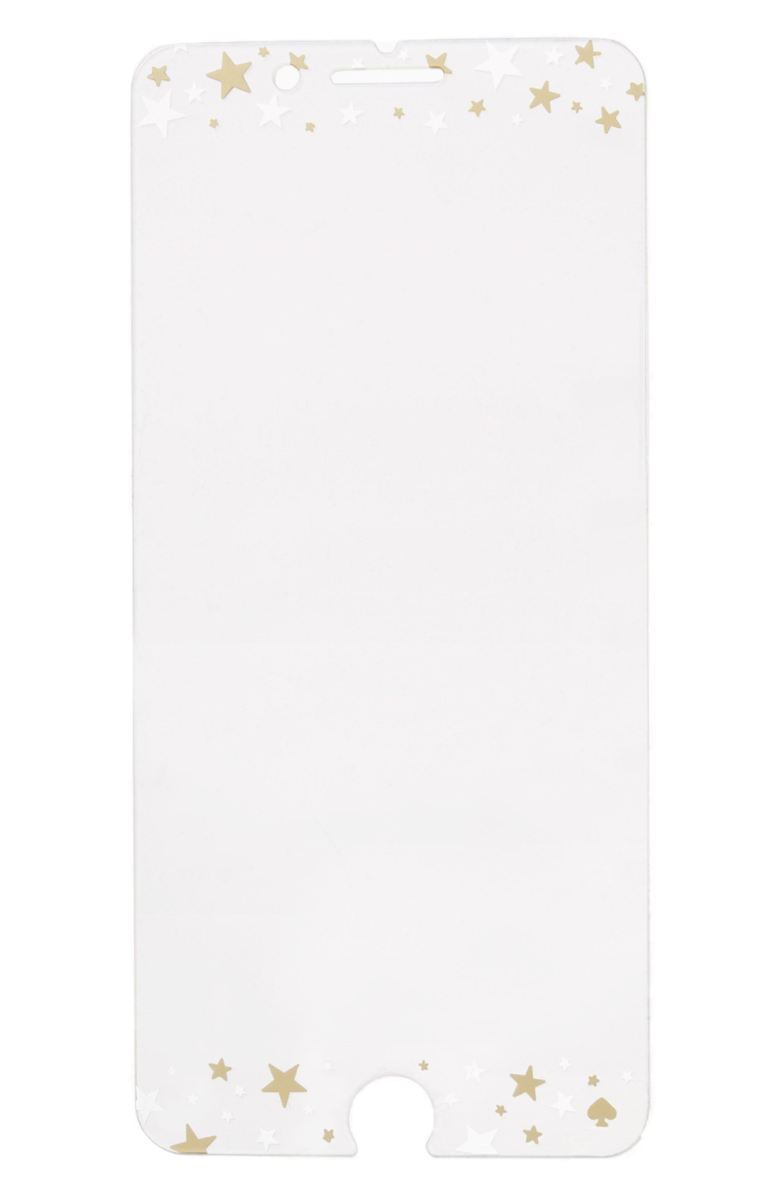 Alternate Image 1 Selected - kate spade new york star screen cover for iPhone 7/8 & 7/8 Plus