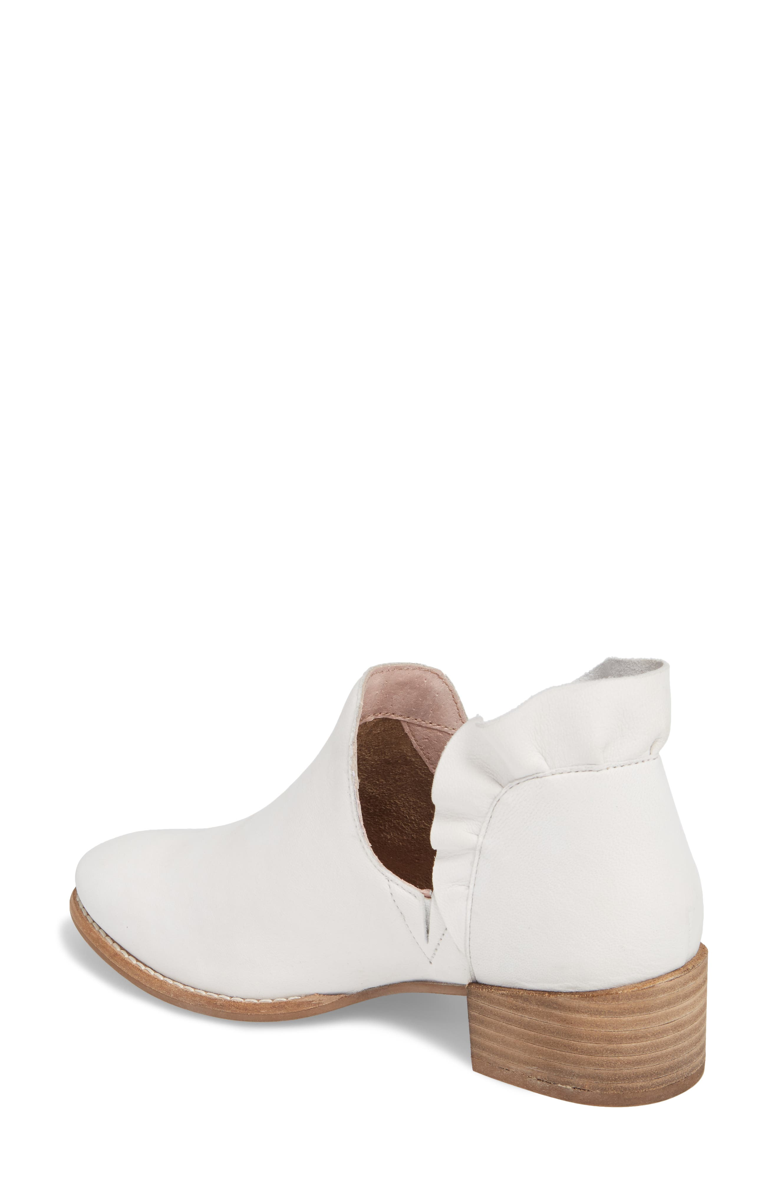 Renowned Bootie,                             Alternate thumbnail 2, color,                             White Nubuck