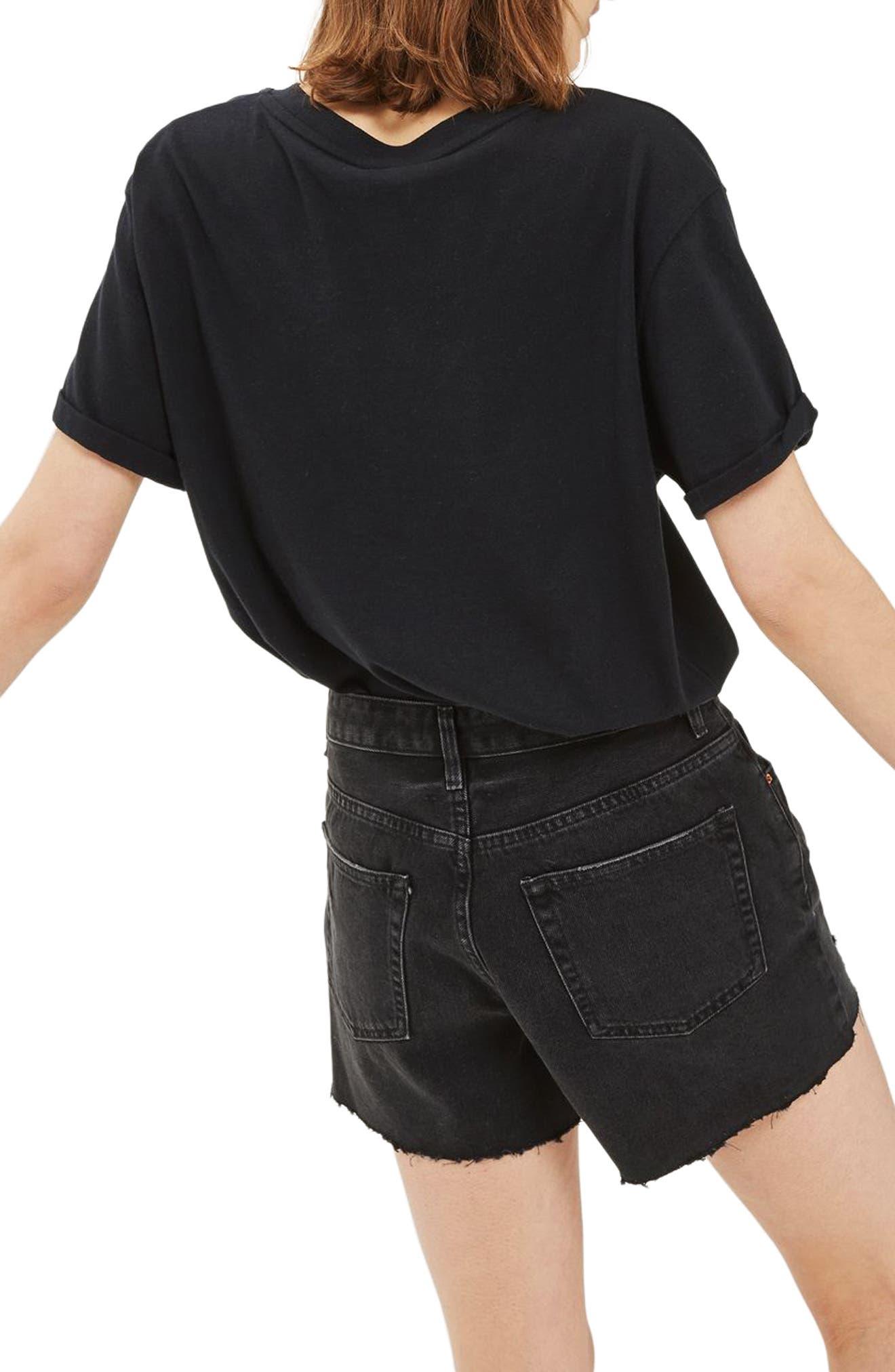 Alternate Image 2  - Topshop Ashley Ripped Denim Boyfriend Shorts