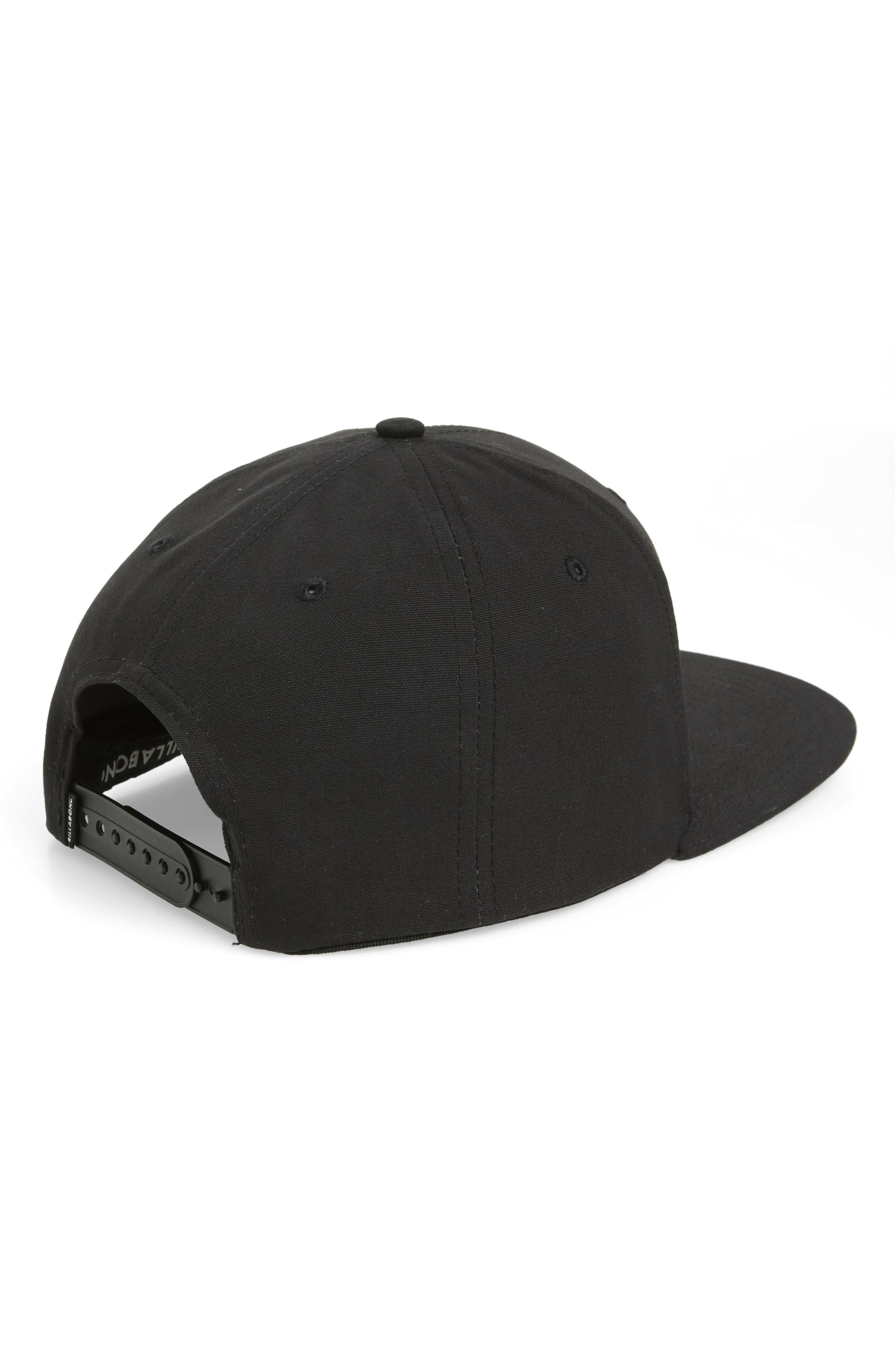 All Day Snapback Baseball Cap,                             Alternate thumbnail 5, color,                             Stealth