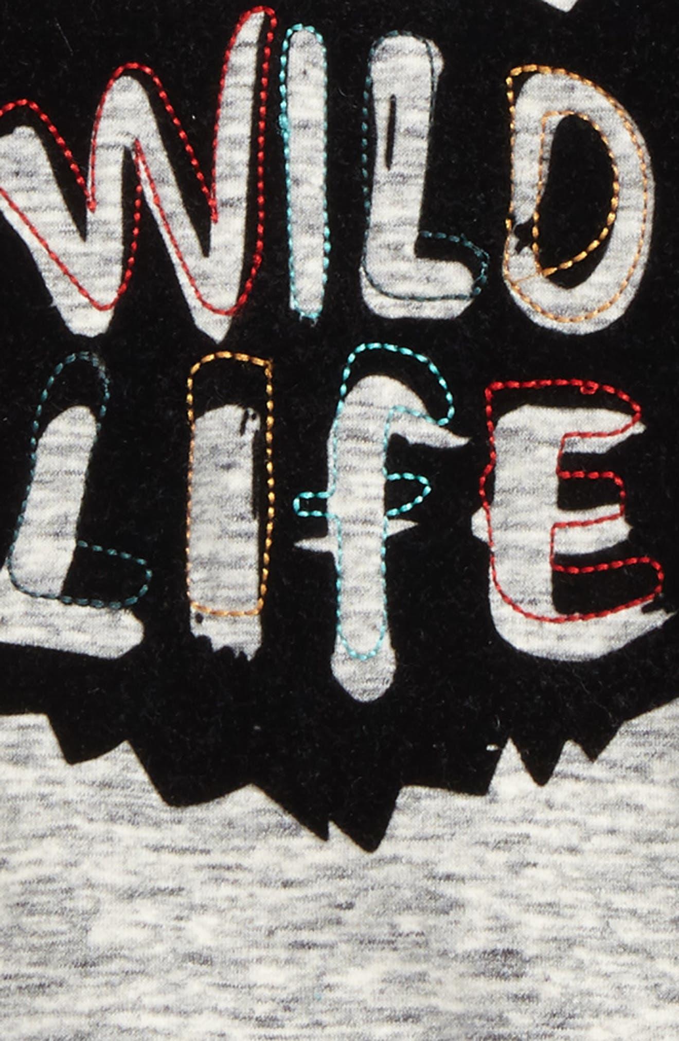 Alternate Image 2  - Rosie Pope Wild Life Sweatshirt (Baby Boys)