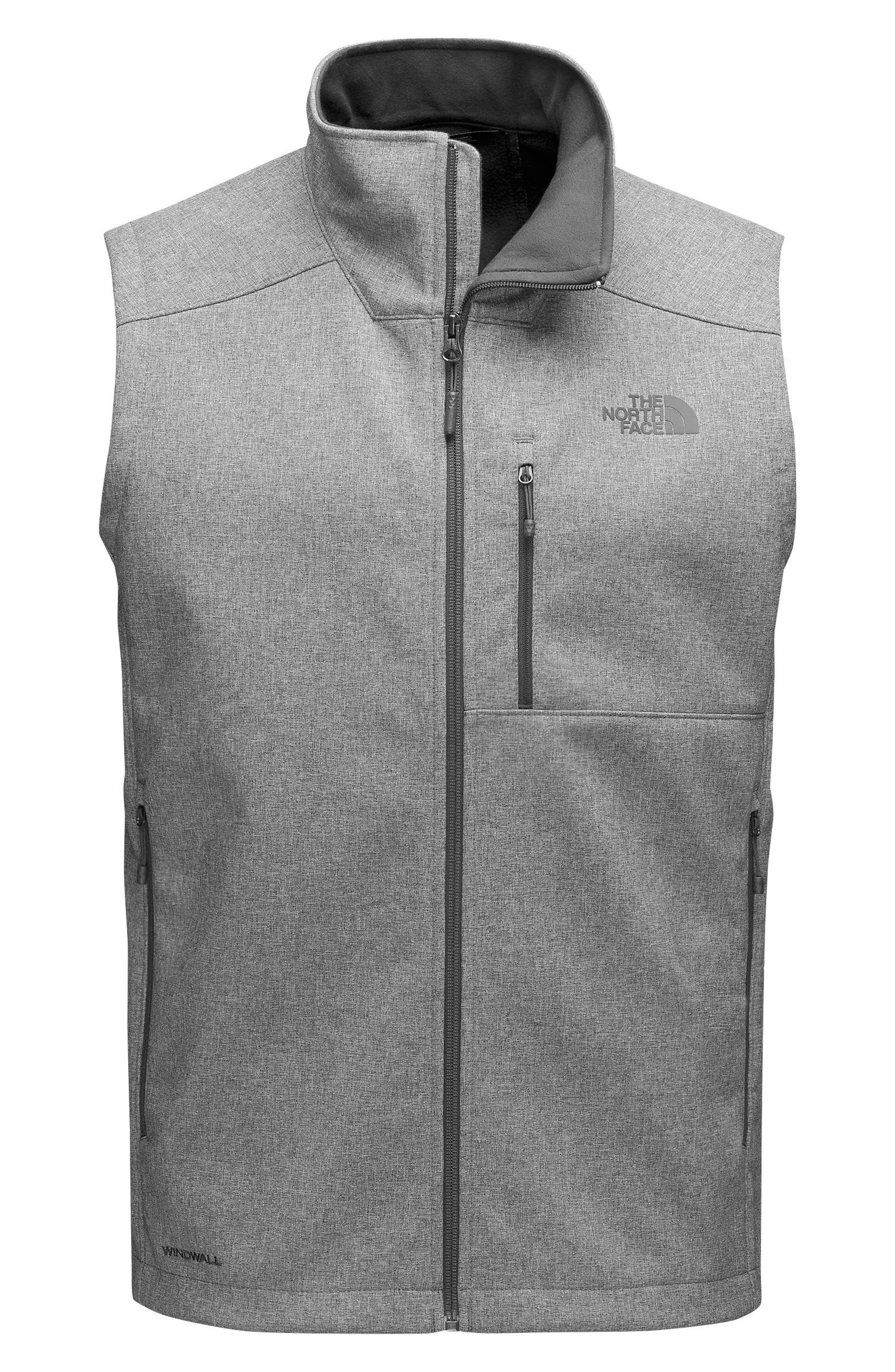 Apex Bionic 2 Vest,                         Main,                         color, Tnf Medium Grey Heather