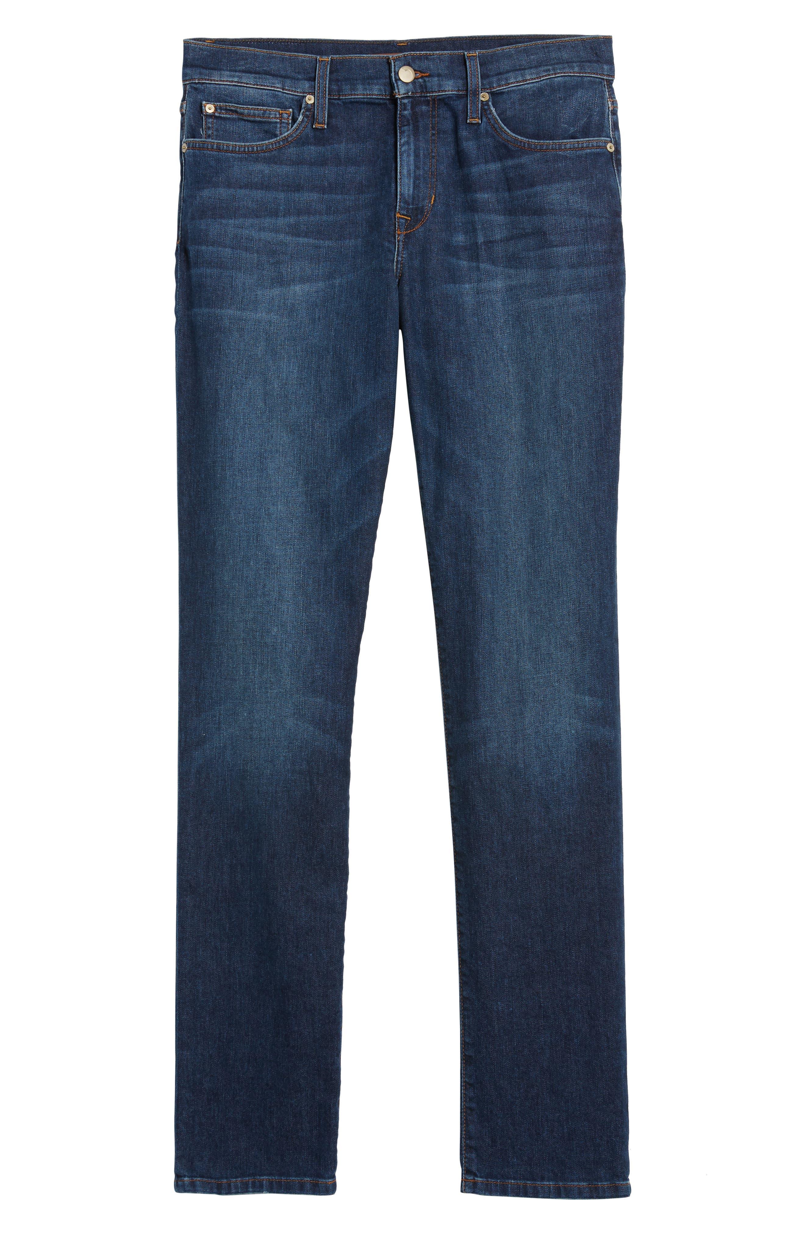 Slim Fit Jeans,                             Alternate thumbnail 6, color,                             Yates