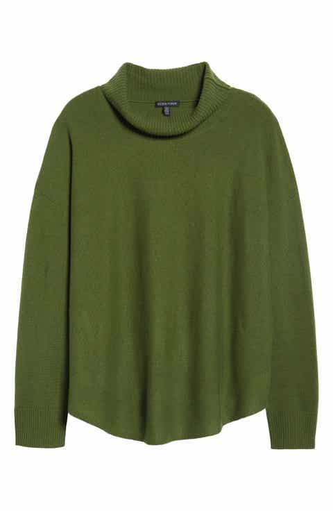 EileenFisher Draped TurtleneckSweater (Regular & Petite)