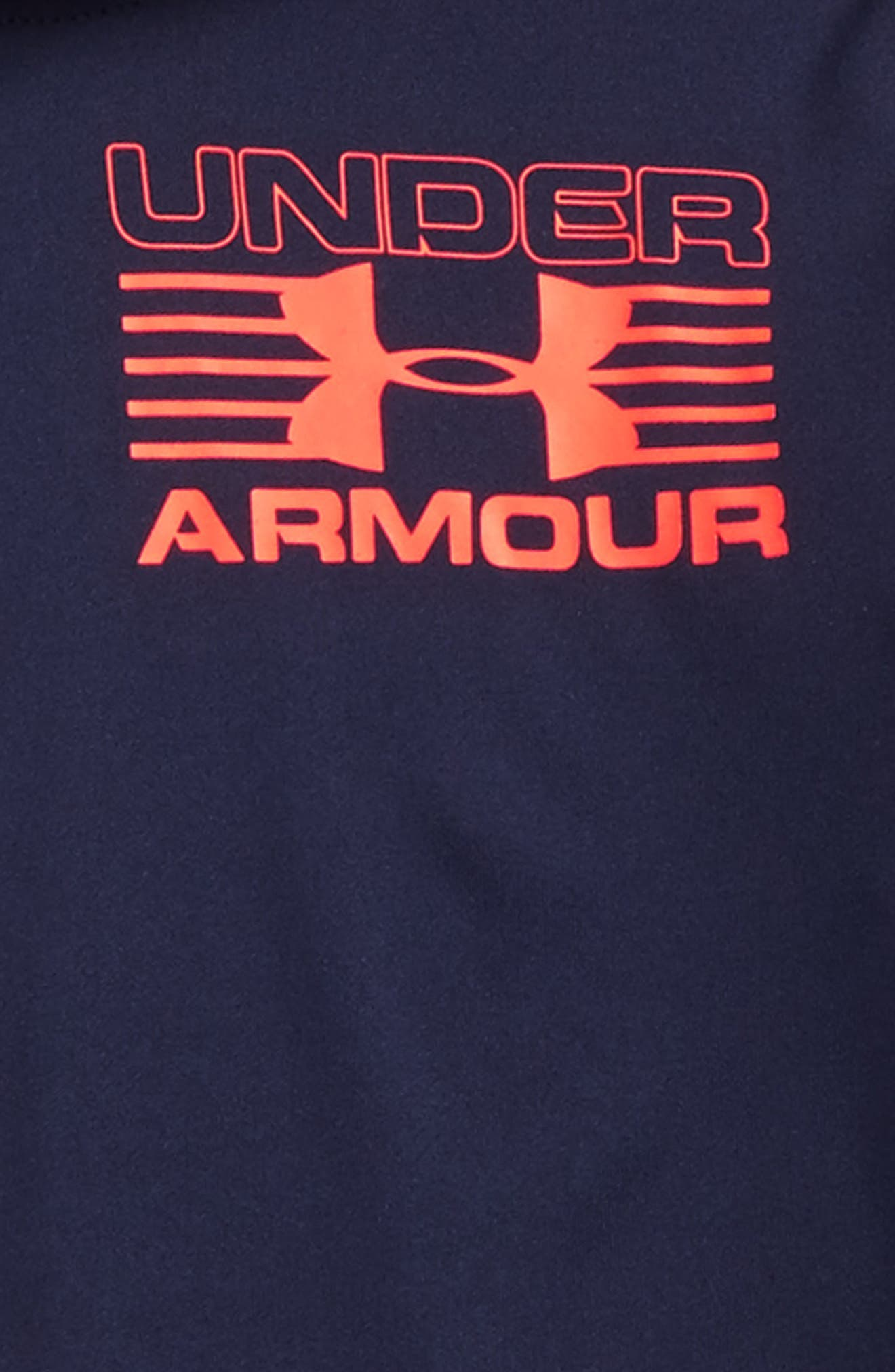 Hooded T-Shirt,                             Alternate thumbnail 2, color,                             Midnight Navy