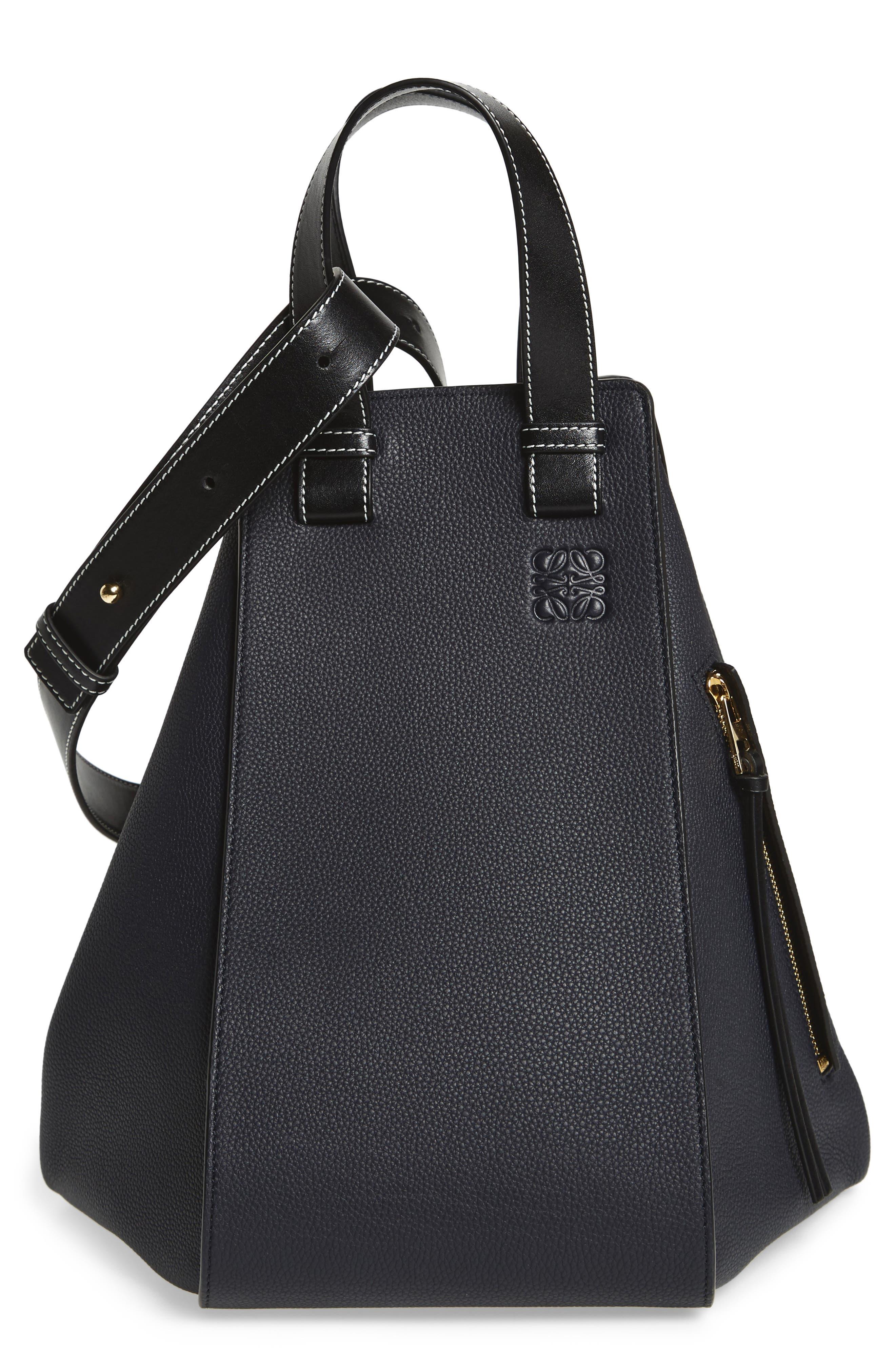 Alternate Image 1 Selected - Loewe Medium Hammock Calfskin Leather Shoulder Bag