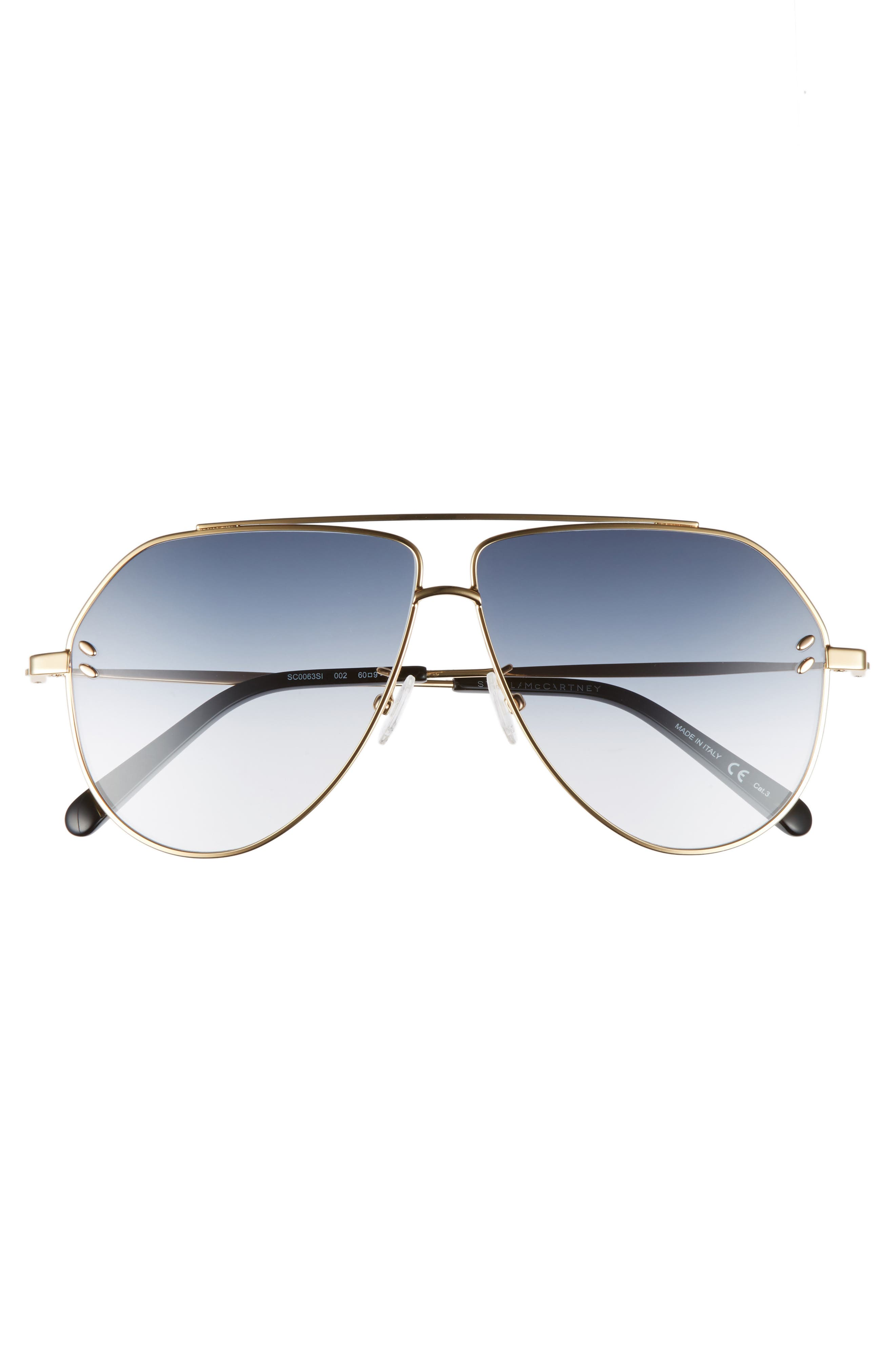 Alternate Image 3  - Stella McCartney 60mm Aviator Sunglasses