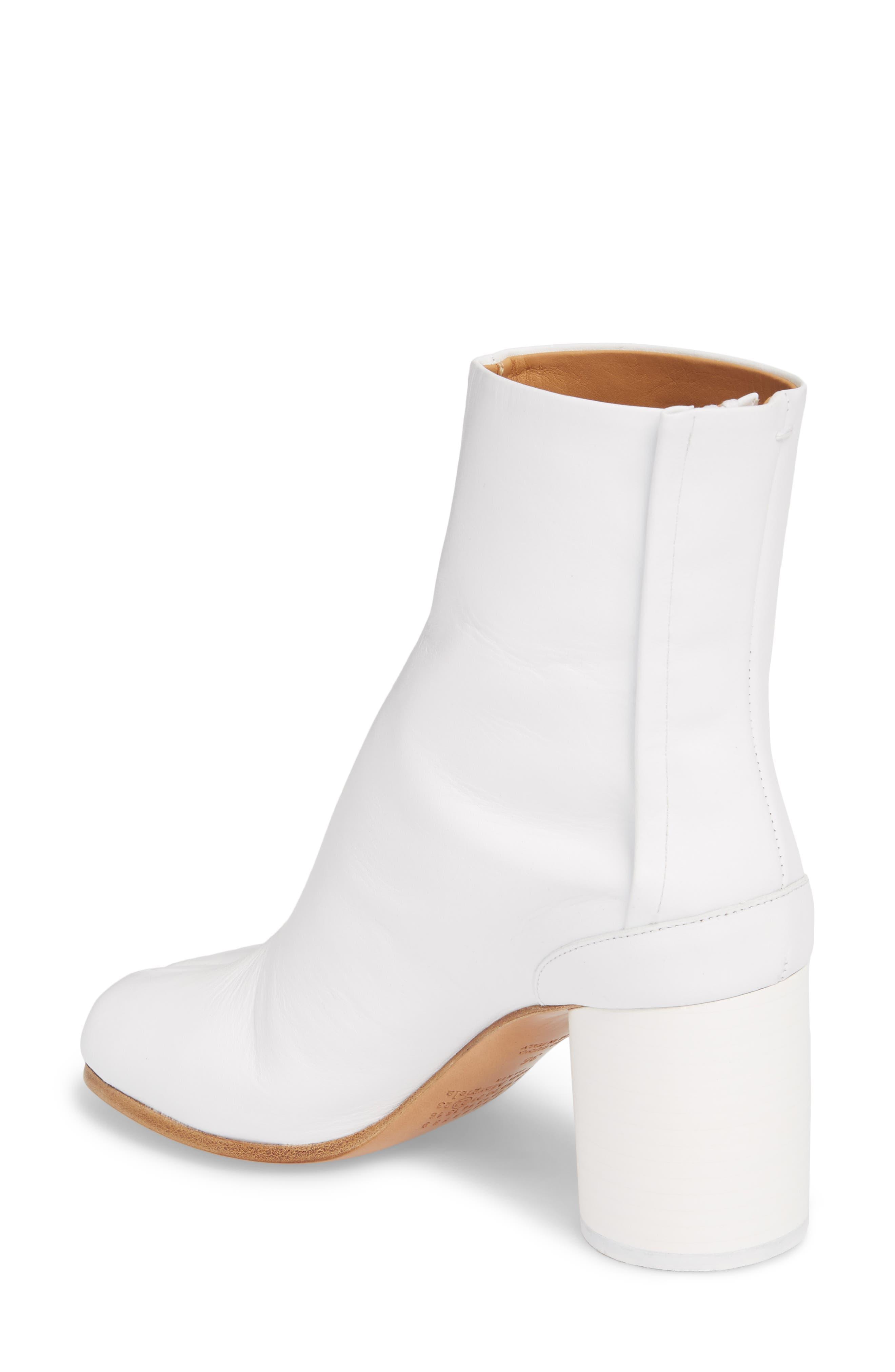 Tabi Boot,                             Alternate thumbnail 2, color,                             White