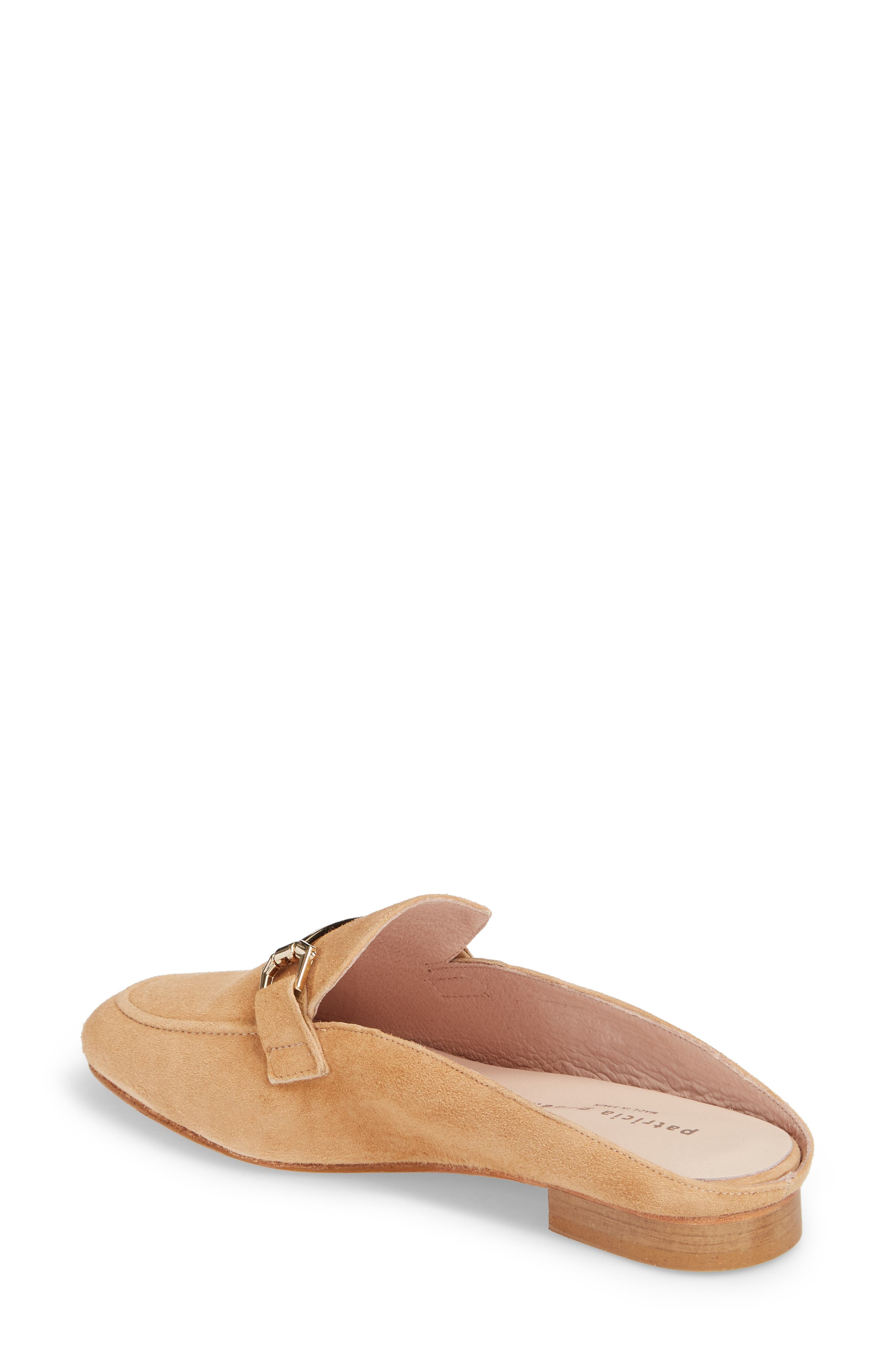 Sorrento Too Mule,                             Alternate thumbnail 2, color,                             Camel Suede