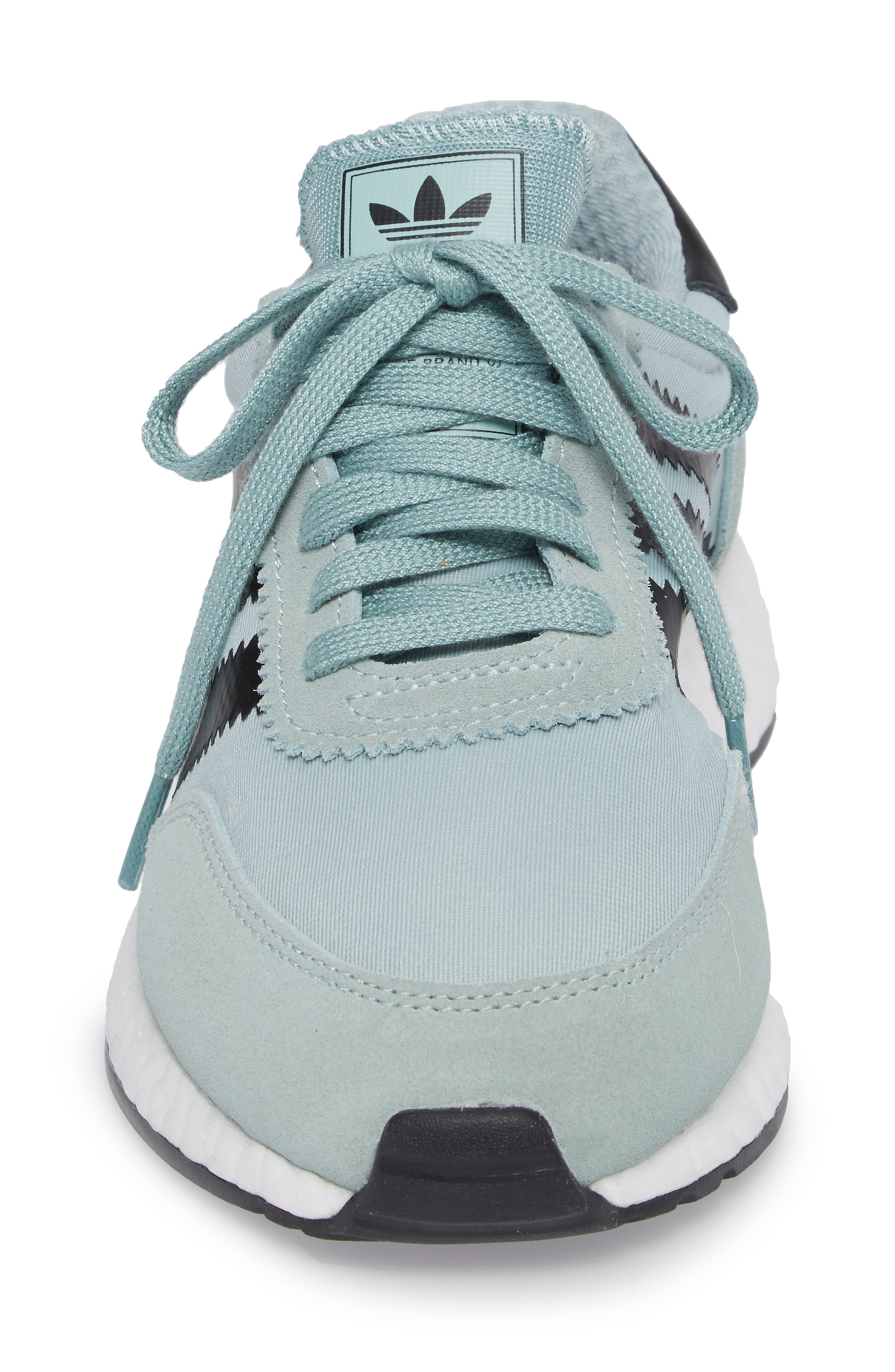 I-5923 Sneaker,                             Alternate thumbnail 5, color,                             Tactile Green/ Black/ White