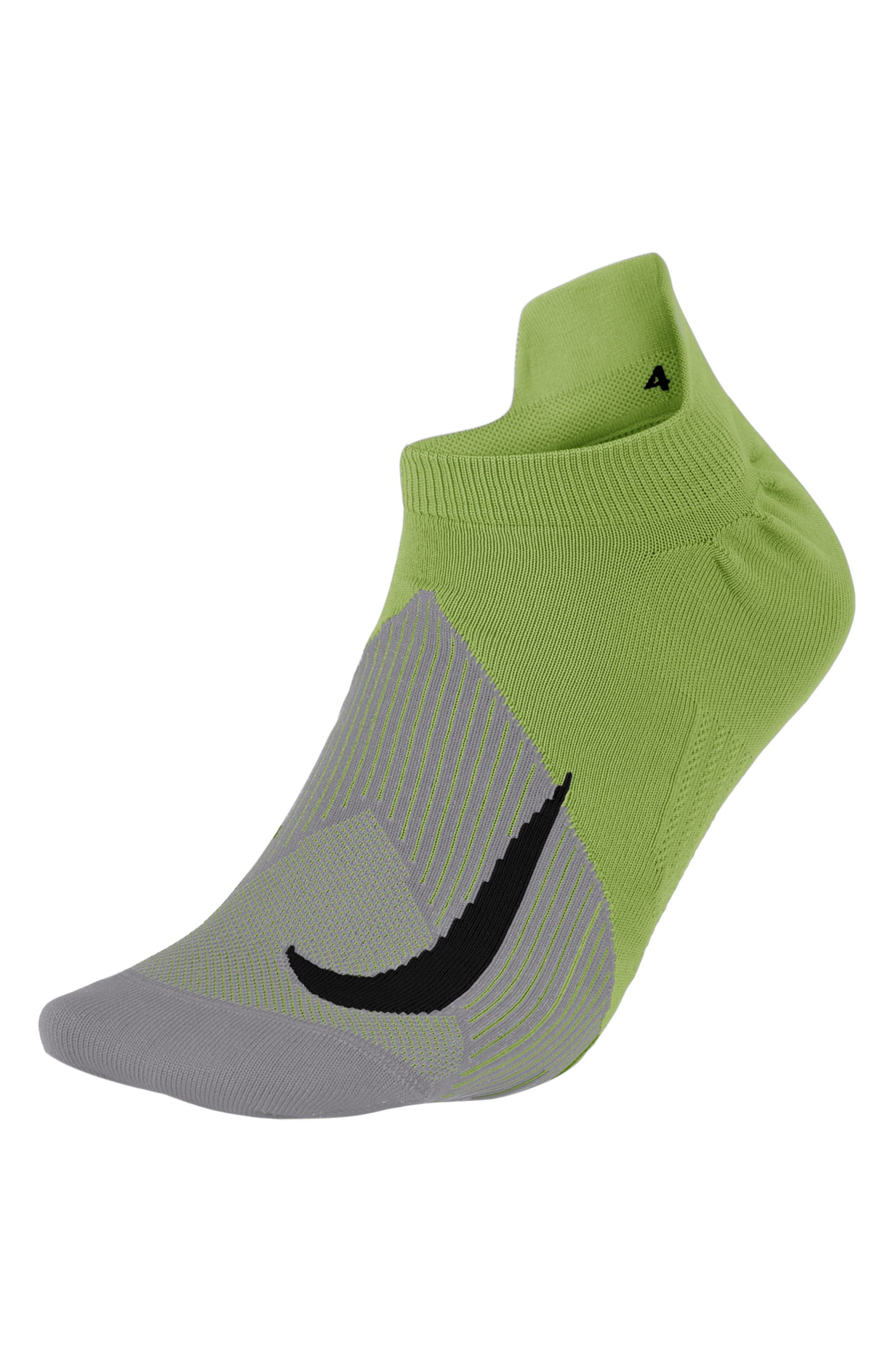 Elite Lightweight No-Show Socks,                             Main thumbnail 1, color,                             Volt