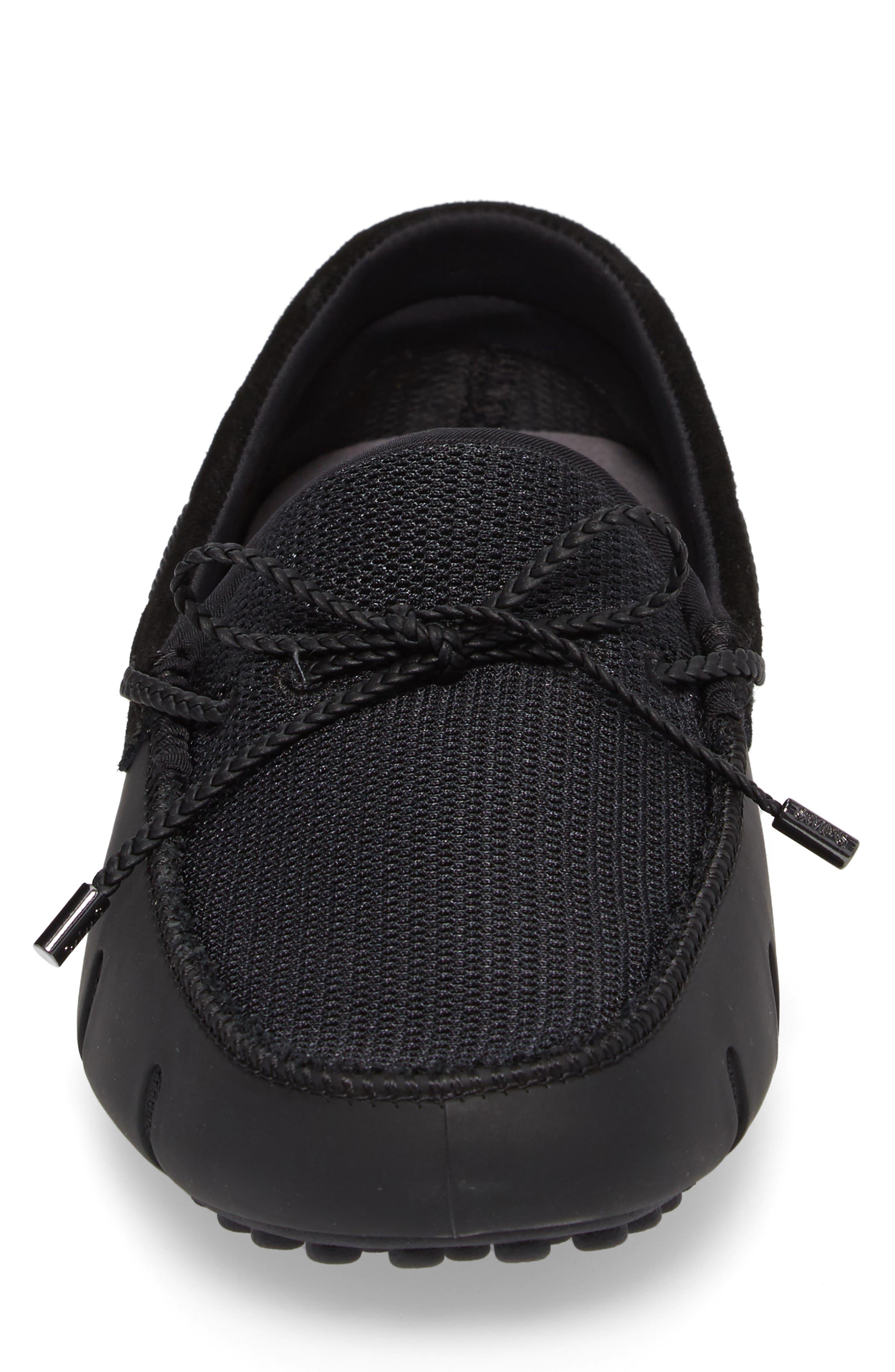 Driving Shoe,                             Alternate thumbnail 4, color,                             Black/ Graphite
