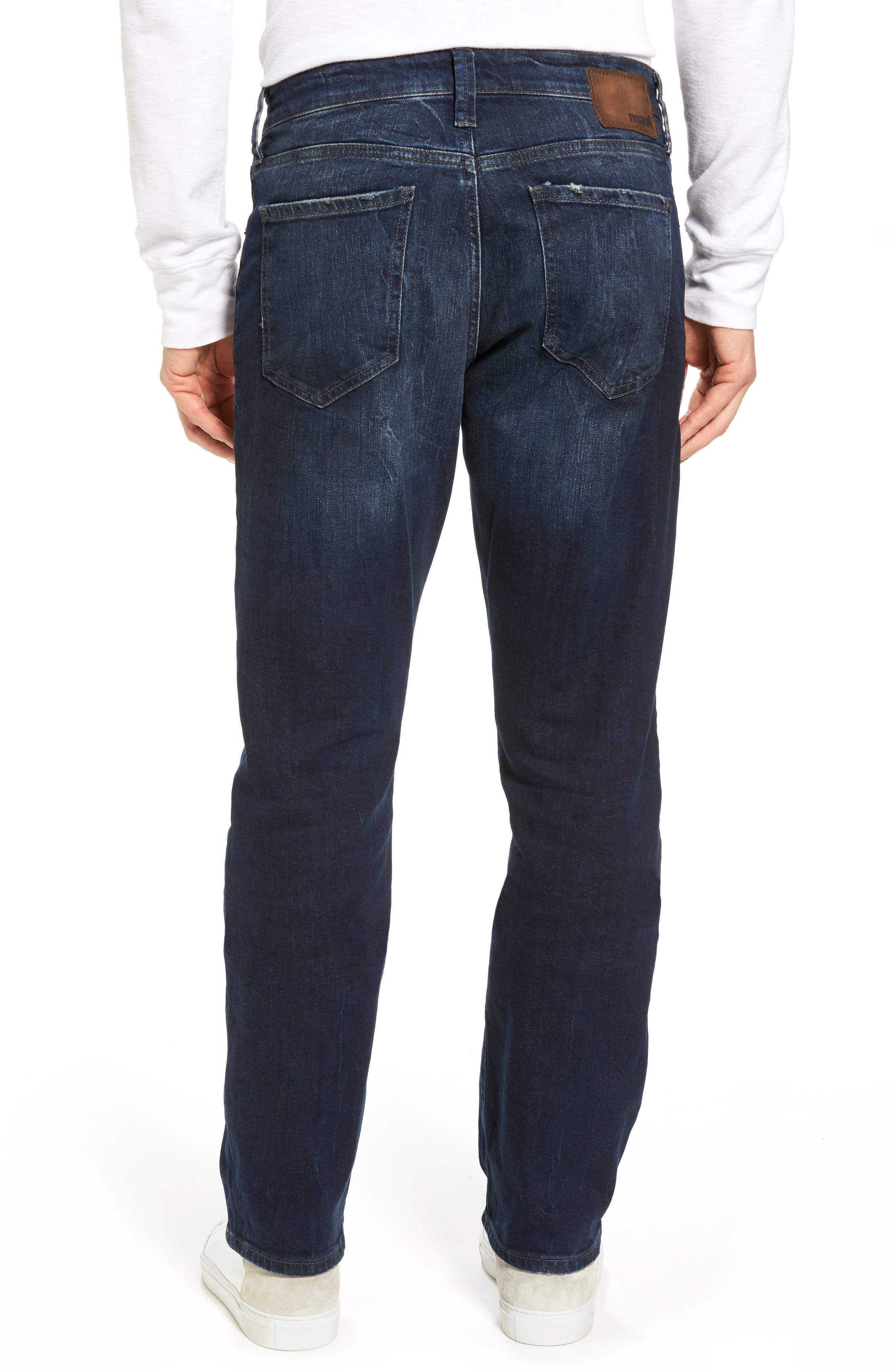 Myles Straight Leg Jeans,                             Alternate thumbnail 2, color,                             Deep Brooklyn