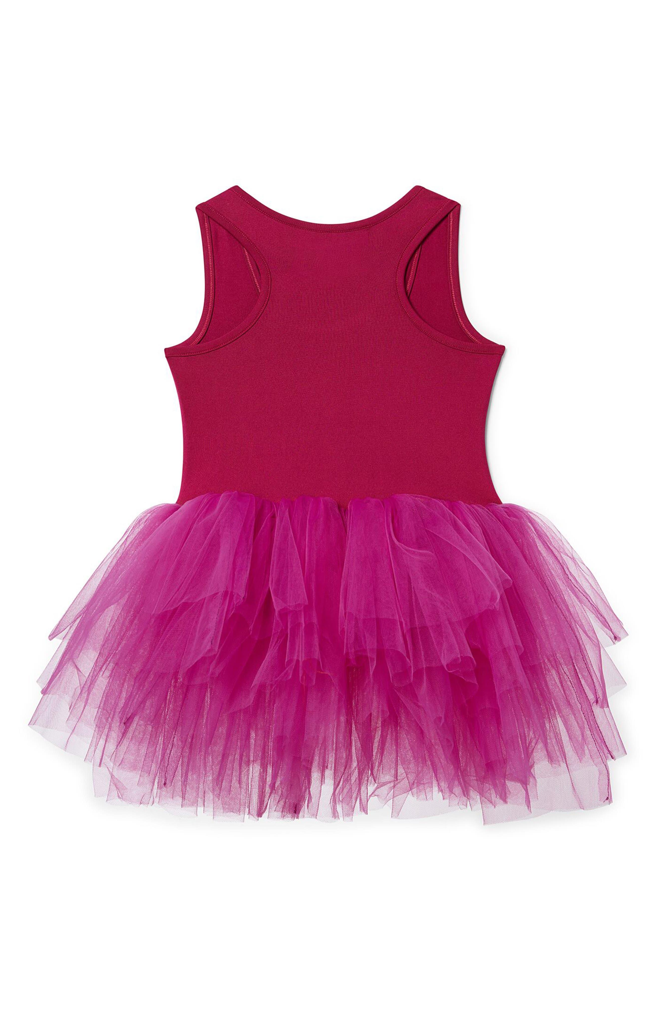 Tutu Dress,                             Alternate thumbnail 2, color,                             Magenta