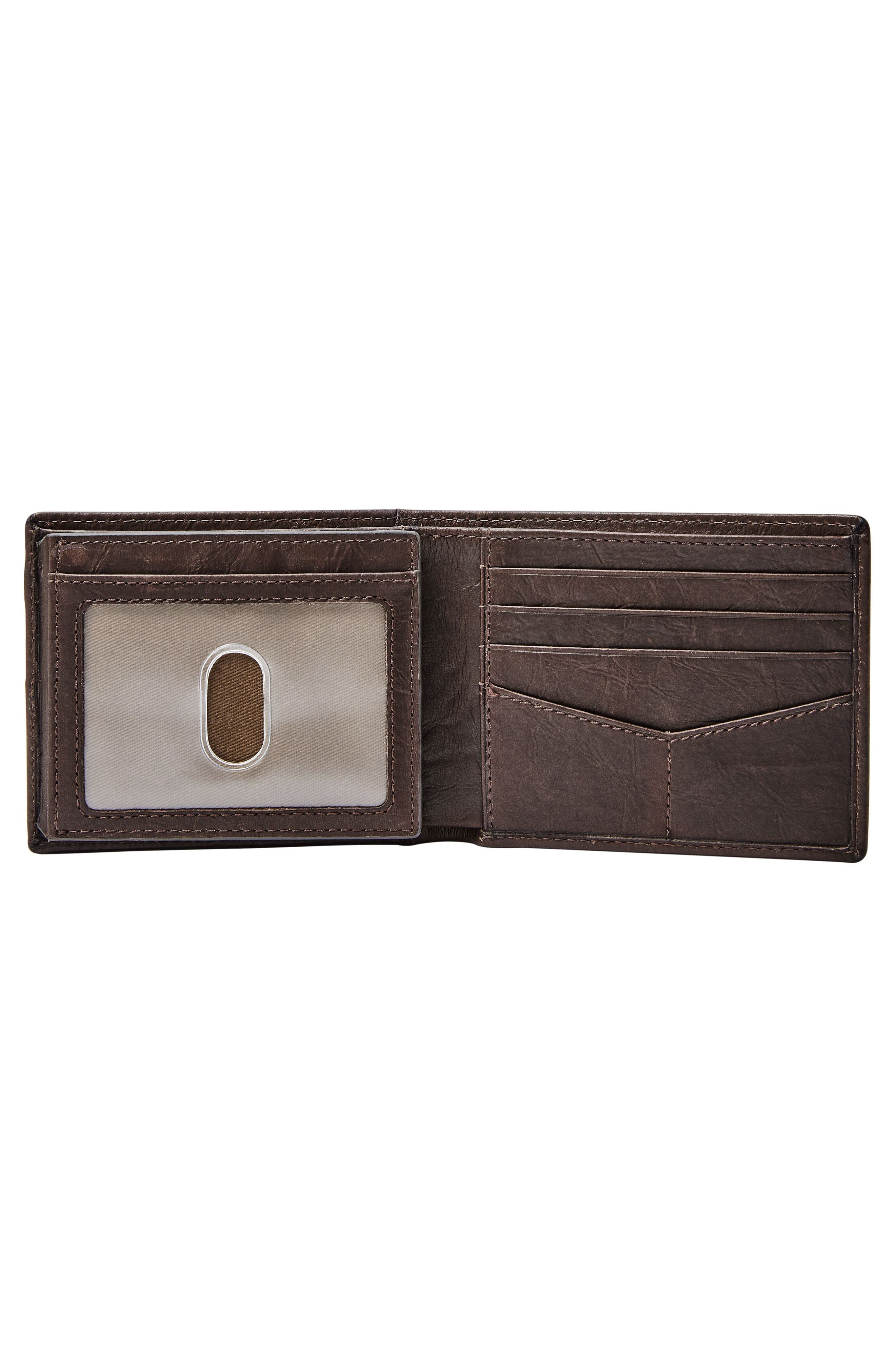 Alternate Image 2  - Fossil Leather Wallet