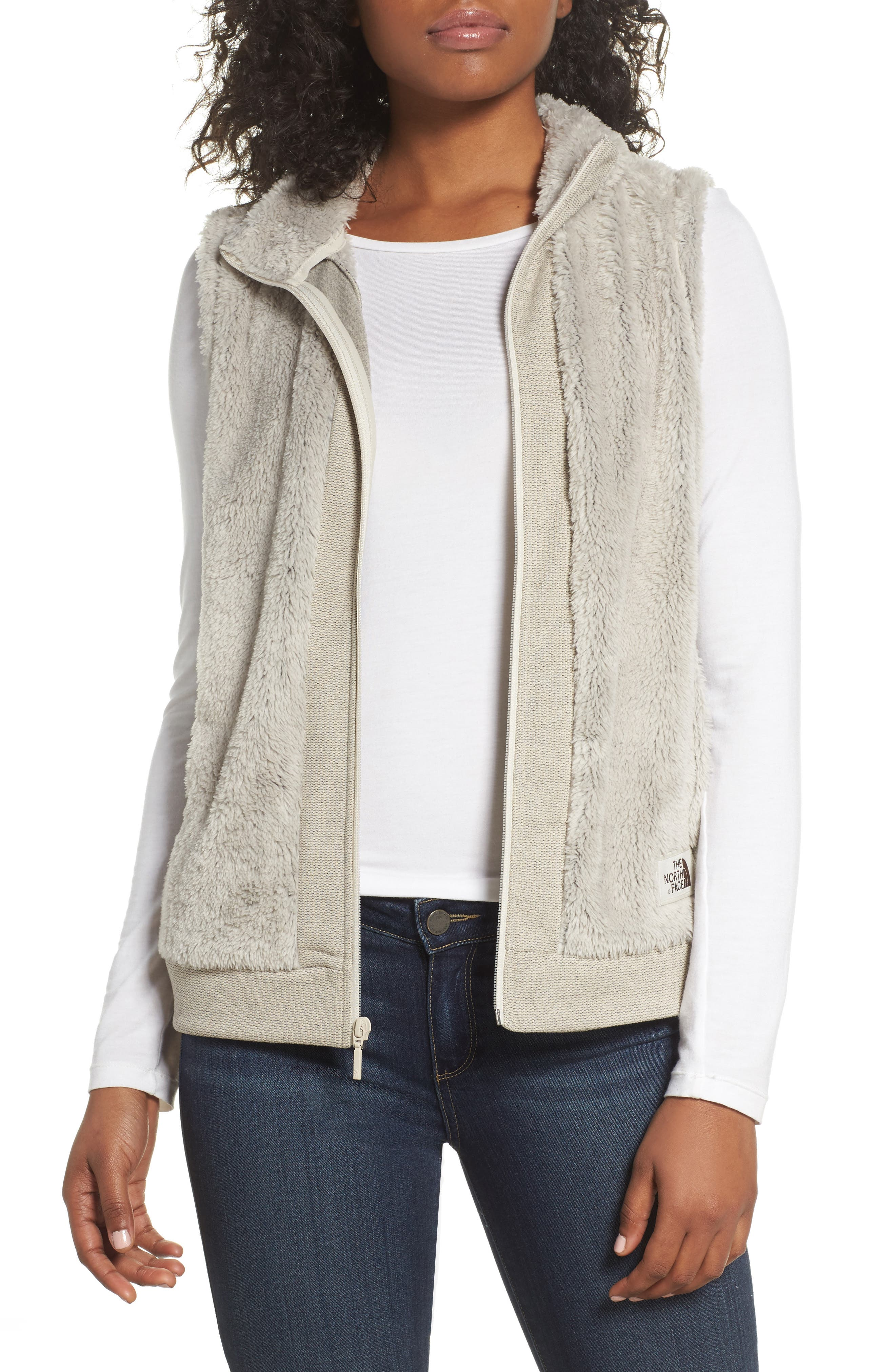 Alternate Image 1 Selected - The North Face Faux Fur Vest