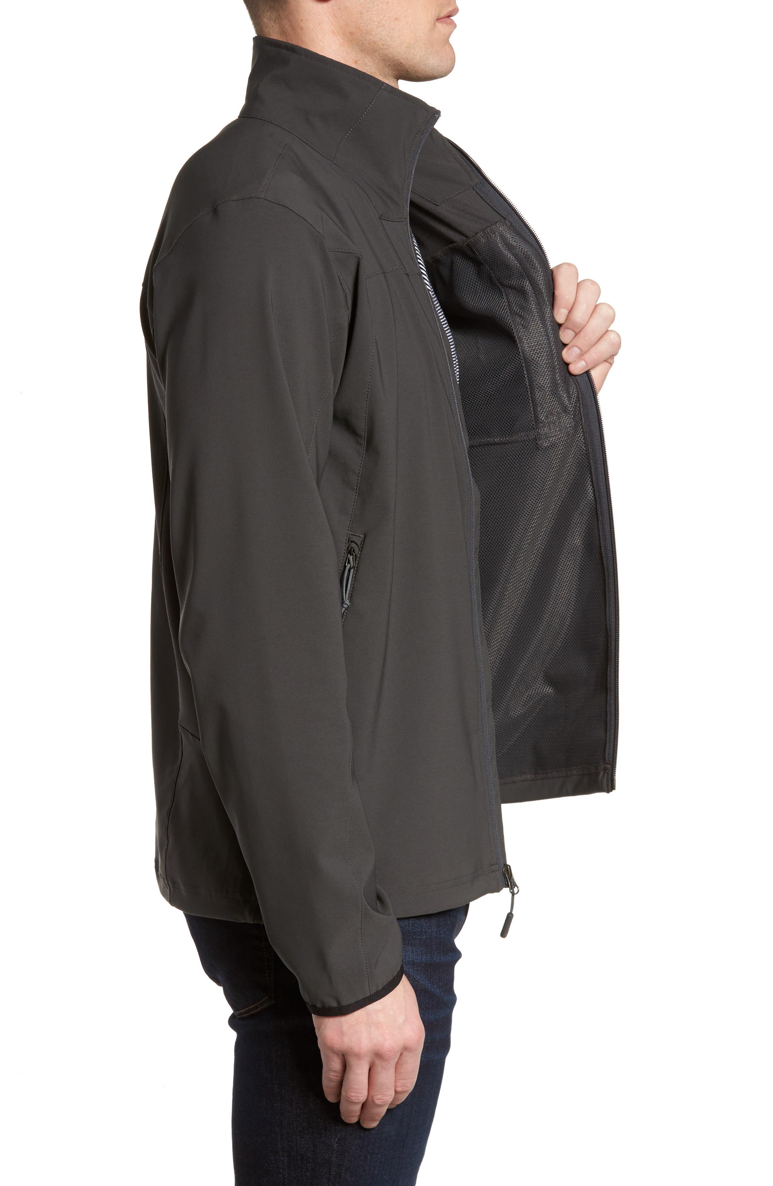 Apex Nimble Jacket,                             Alternate thumbnail 3, color,                             Asphalt Grey/ Asphalt Grey