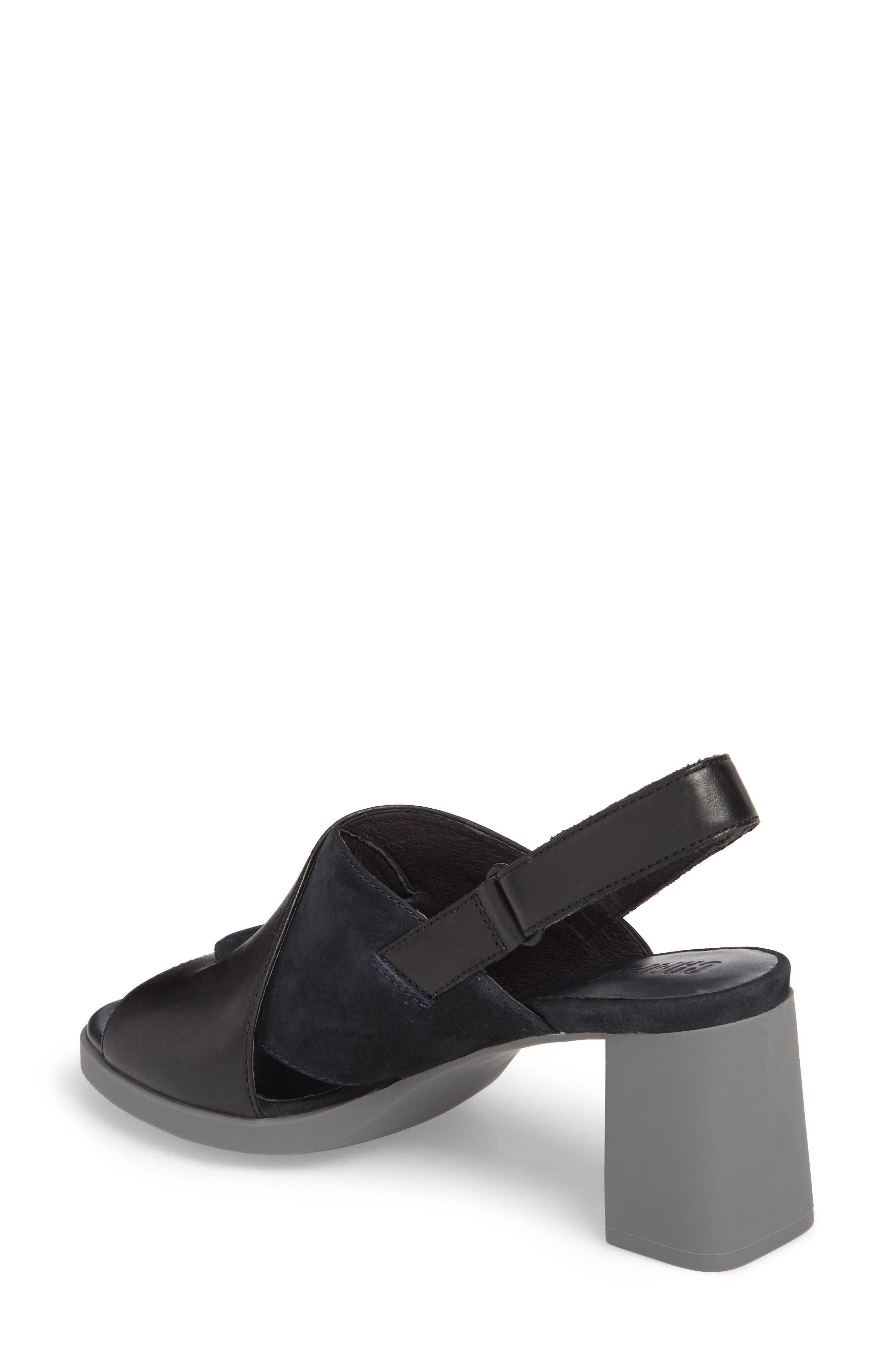 Alternate Image 2  - Camper Kara Cross Strap Sandal (Women)