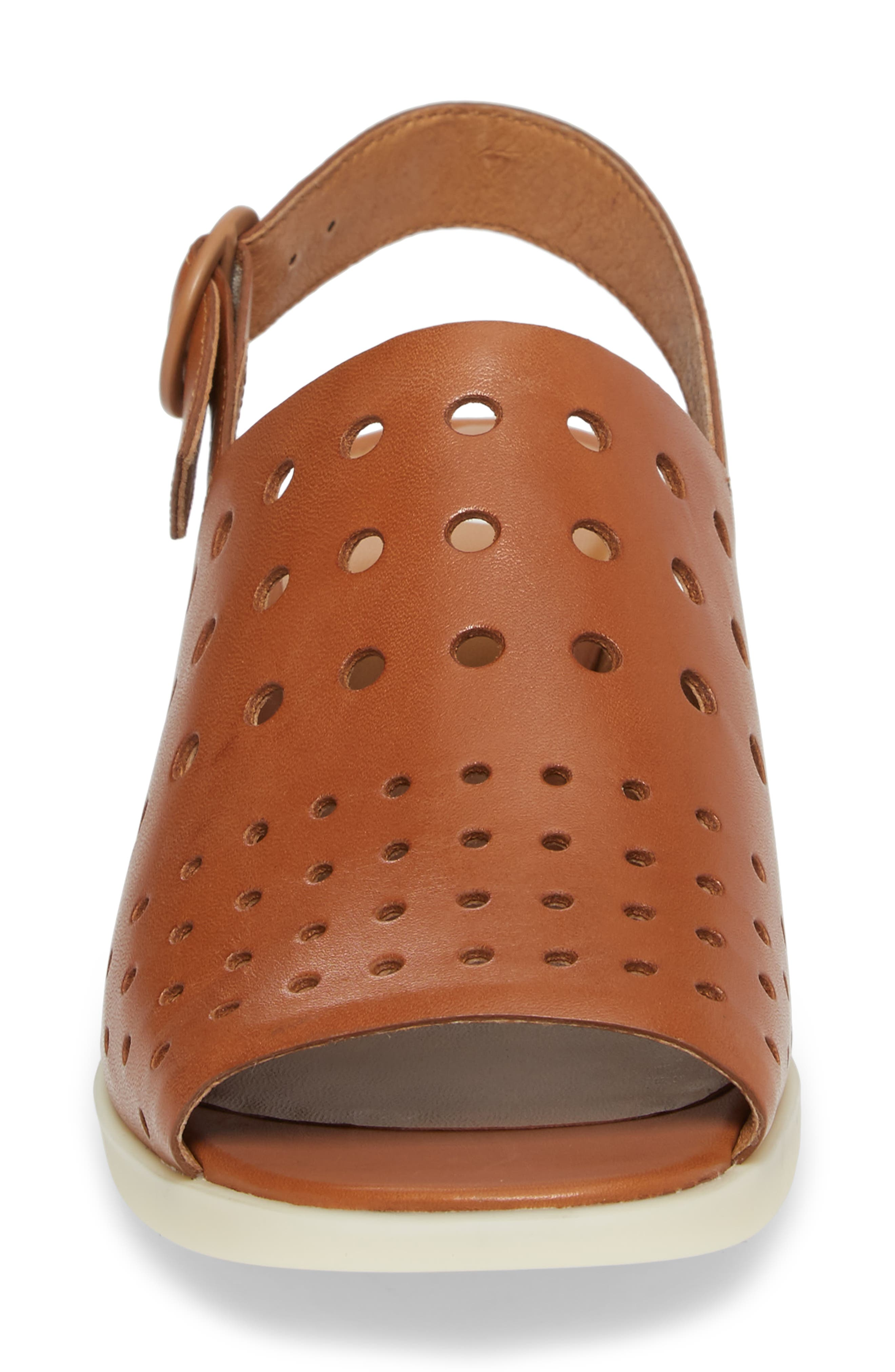 Twins Sandal,                             Alternate thumbnail 4, color,                             Rust/ Copper Leather