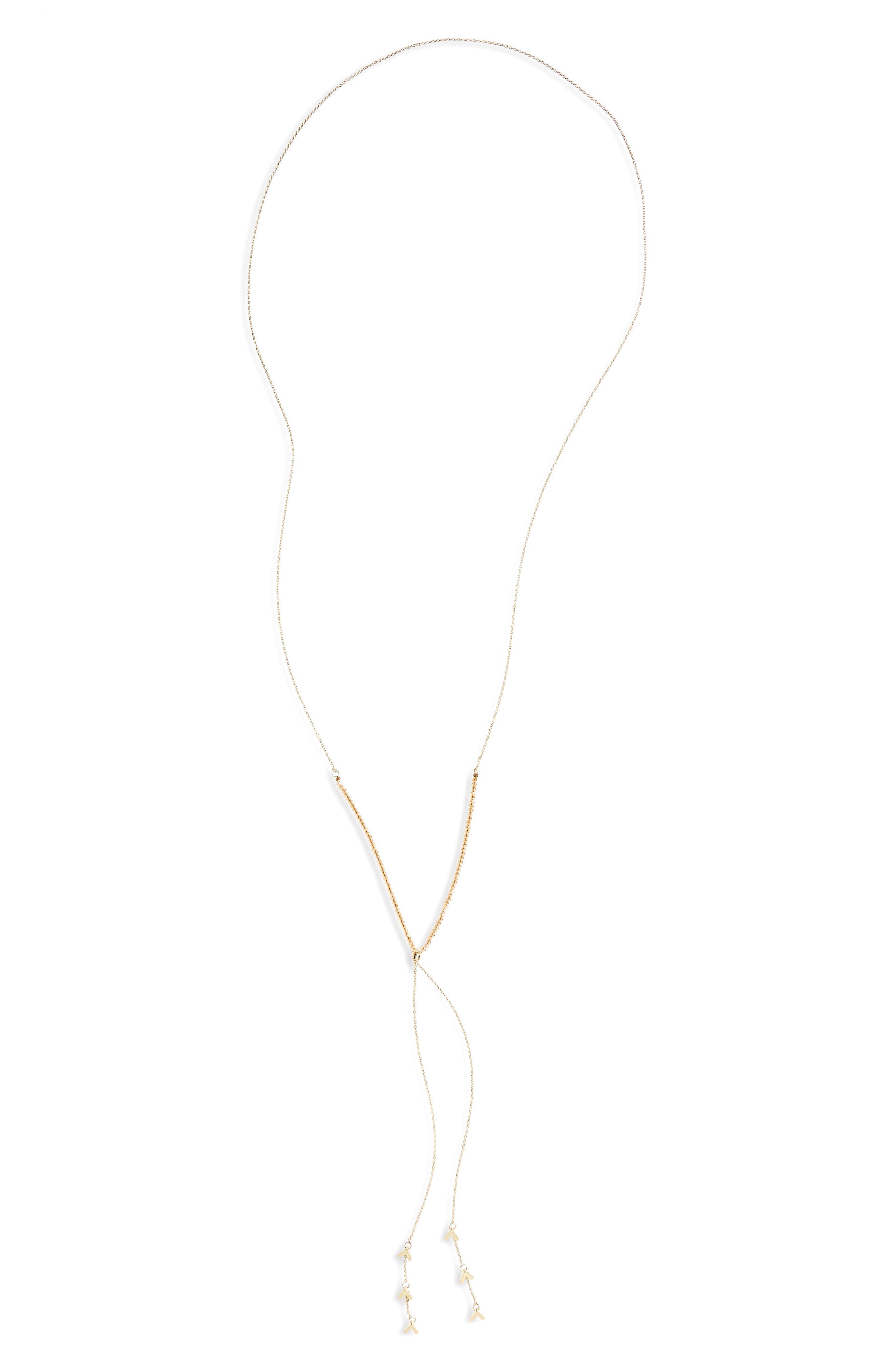 Main Image - Panacea Crystal Y Necklace