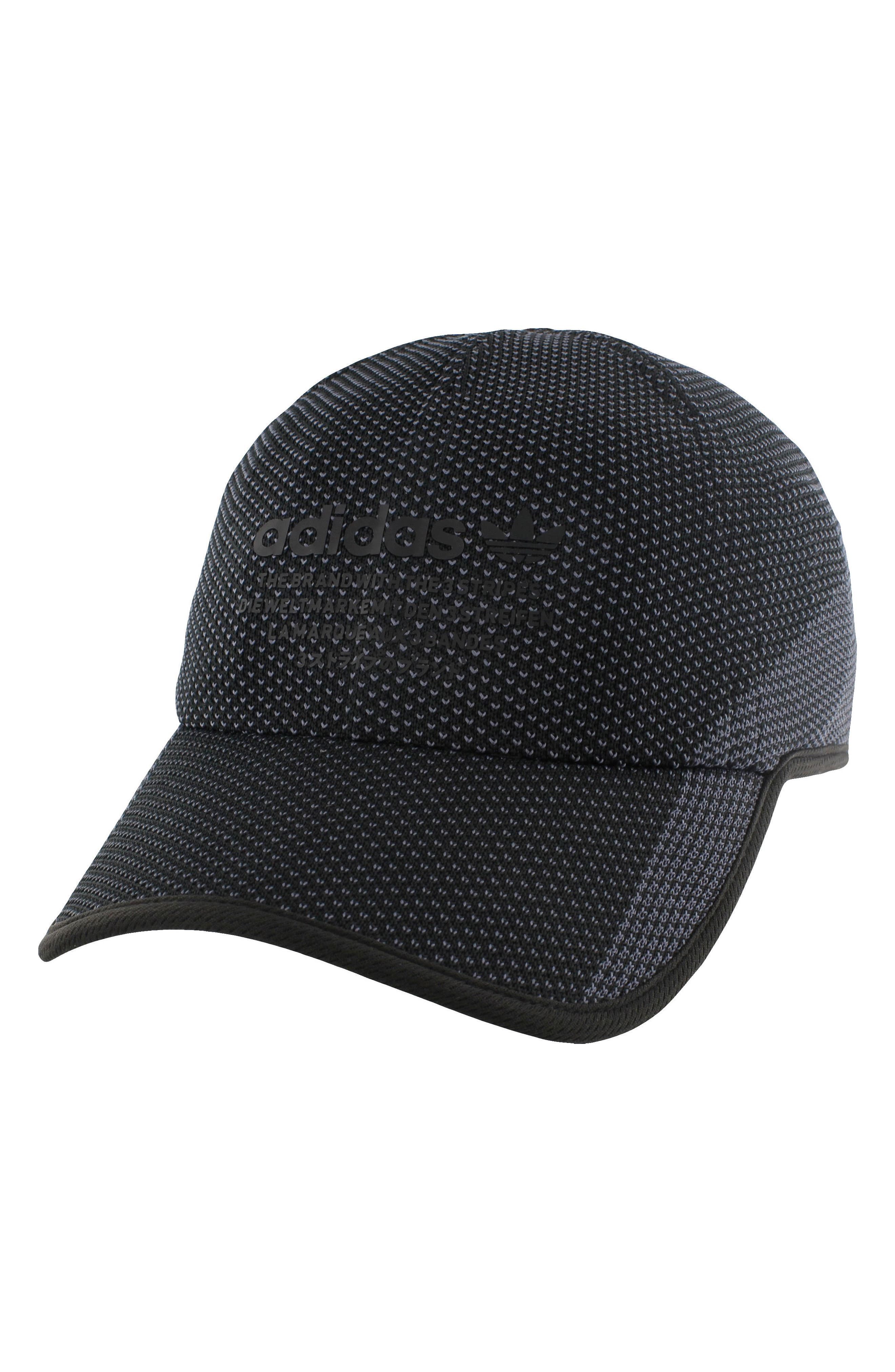 NMD Prime Ball Cap,                             Main thumbnail 1, color,                             Black