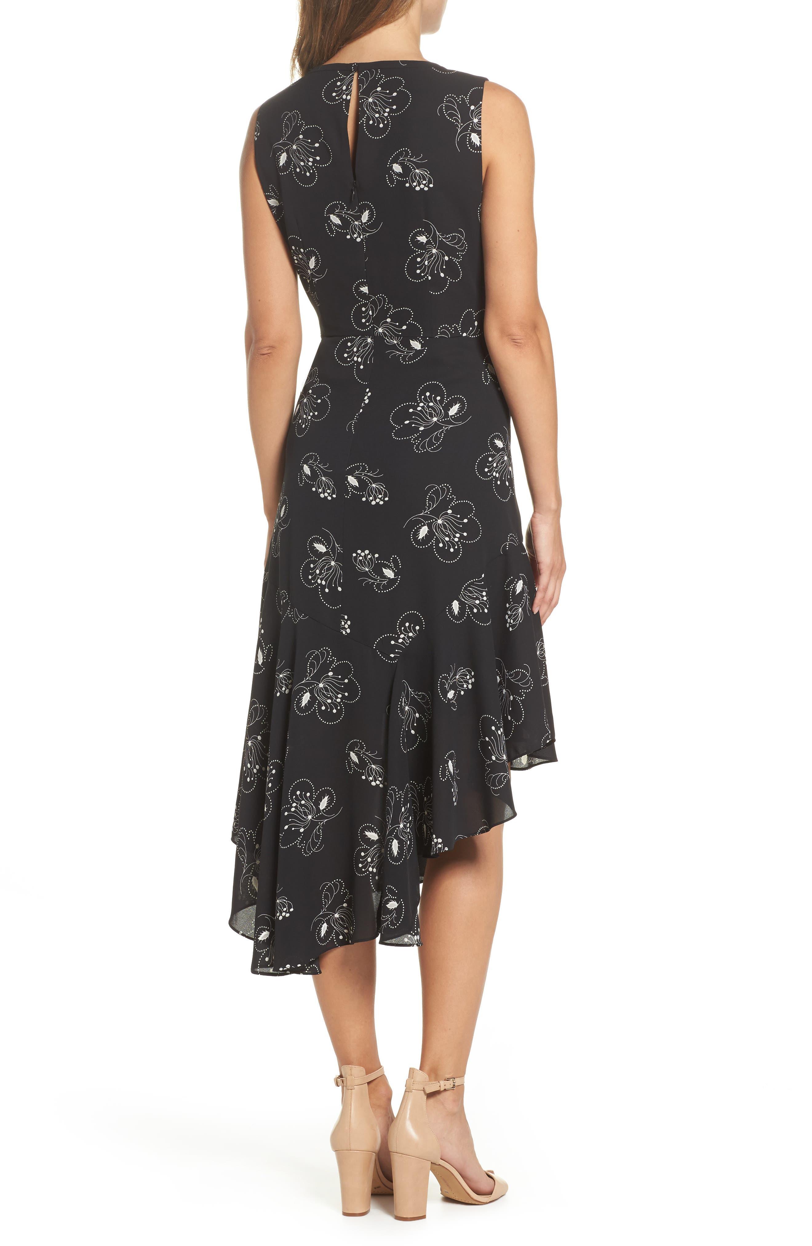 Alternate Image 2  - Kobi Halperin Briana Asymmetrical Hem Dress