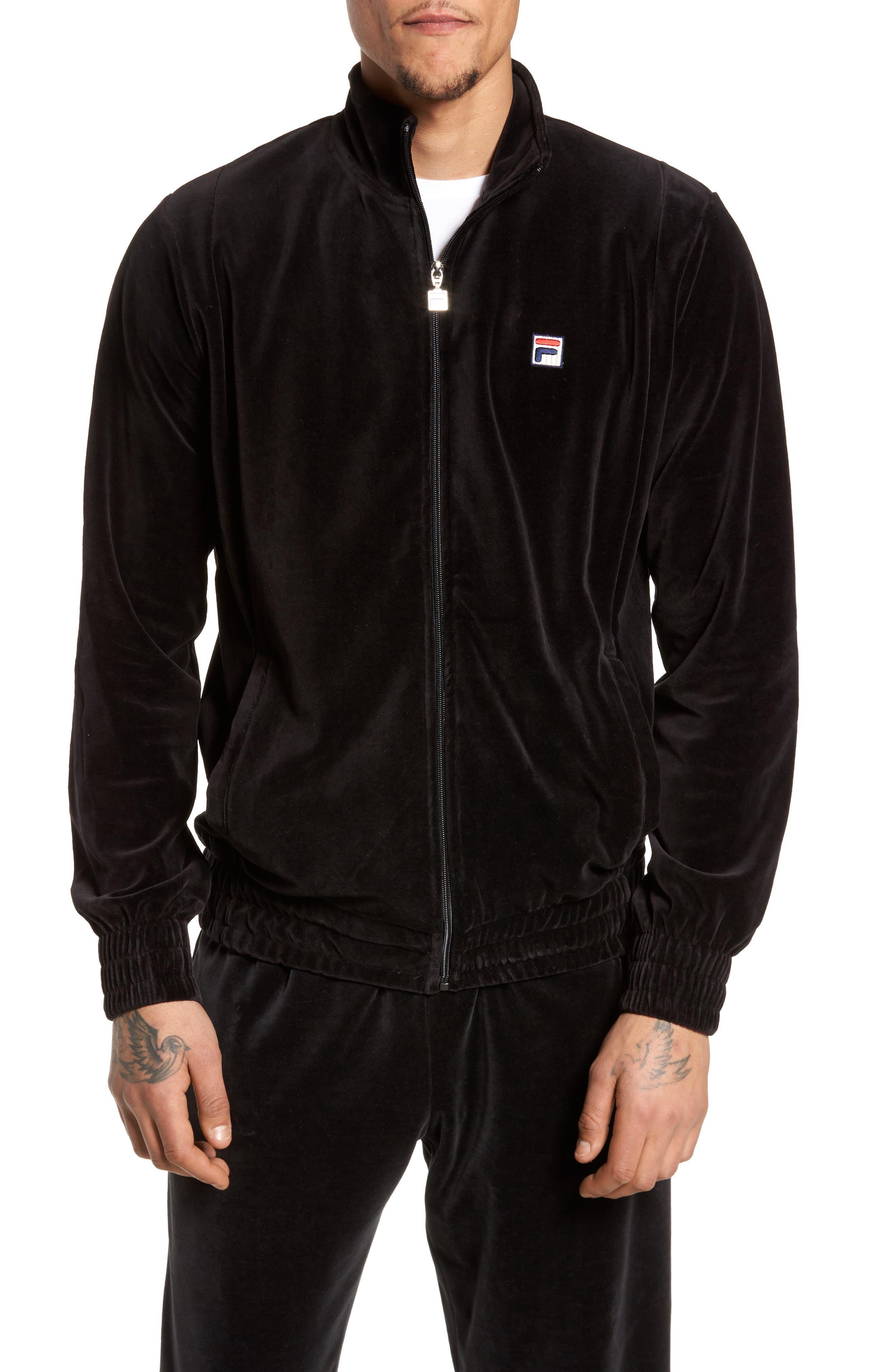 Alternate Image 1 Selected - FILA Velour Jacket